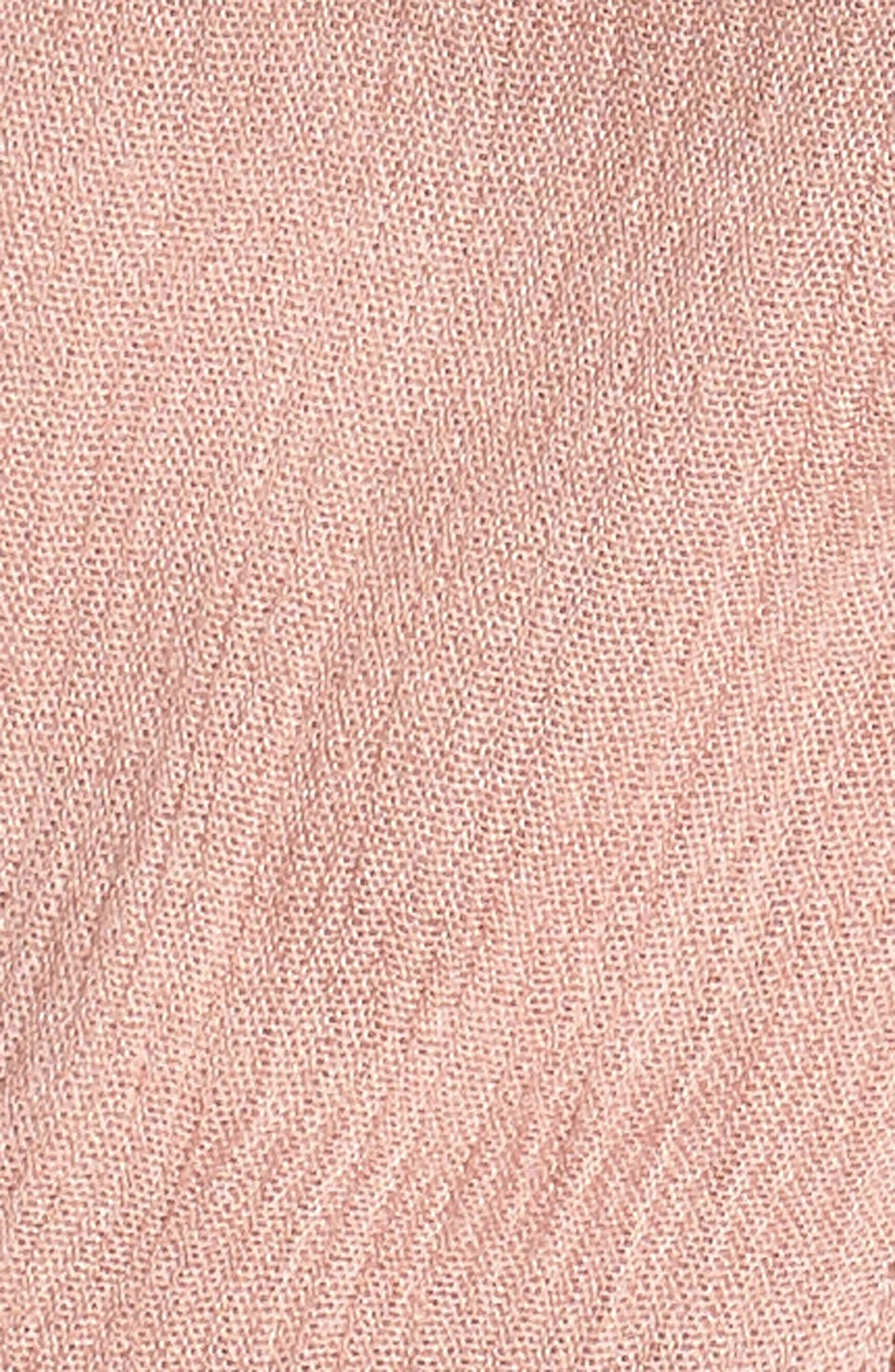 Ladder Trim Midi Dress,                             Alternate thumbnail 14, color,