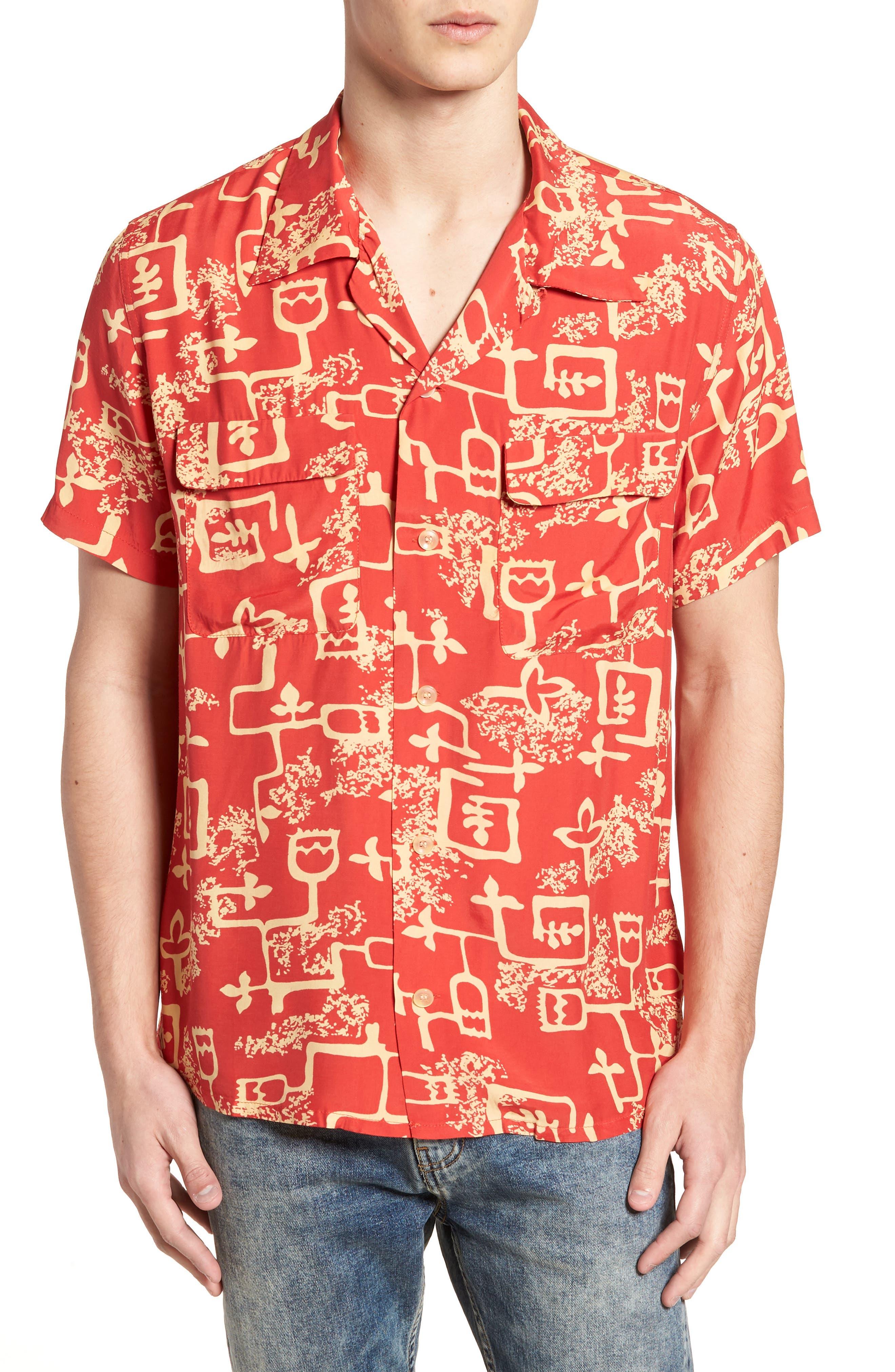 1940's Hawaiian Shirt,                             Main thumbnail 1, color,