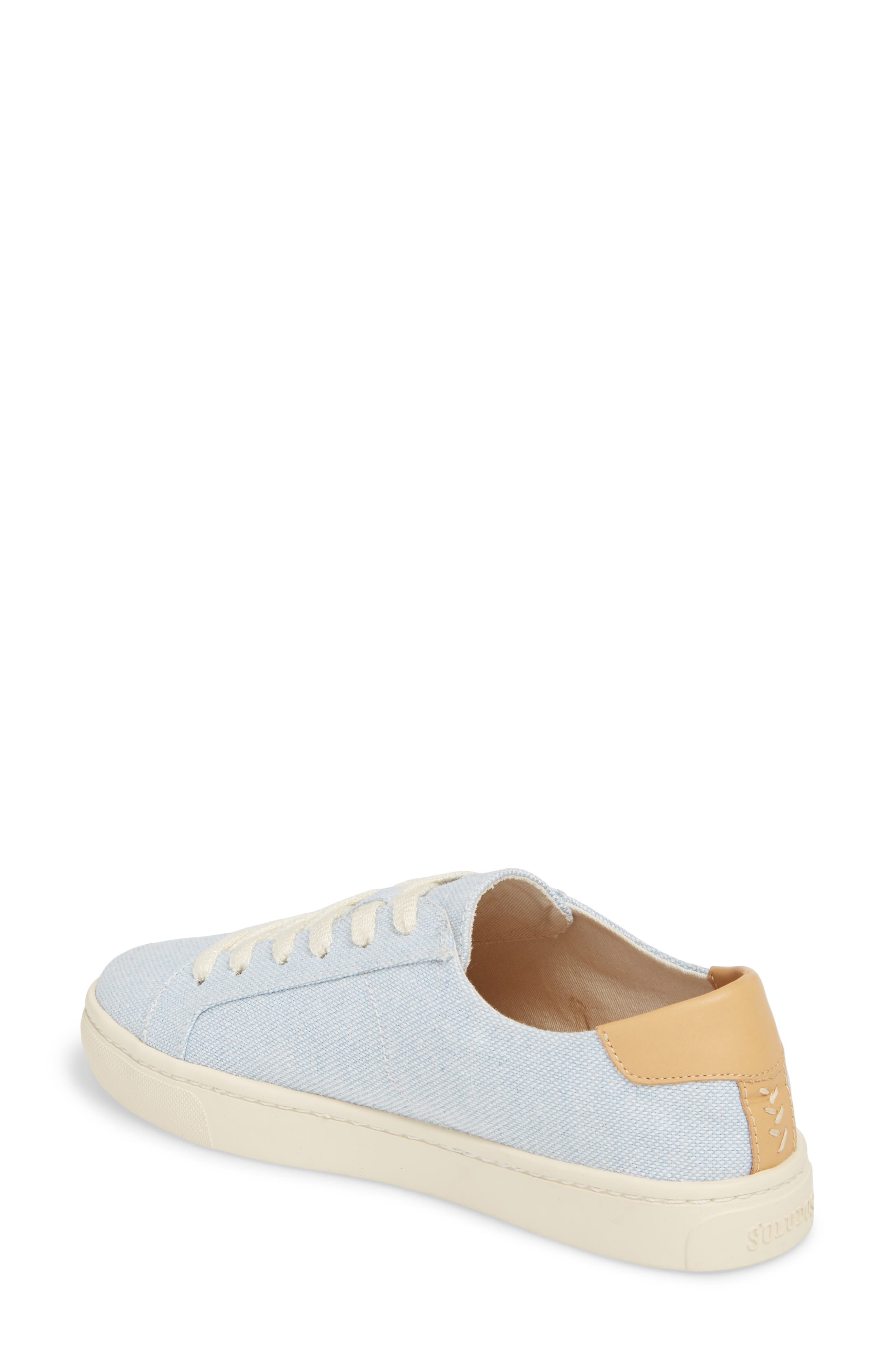 Ibiza Canvas Lace-Up Sneaker,                             Alternate thumbnail 2, color,                             SKY BLUE