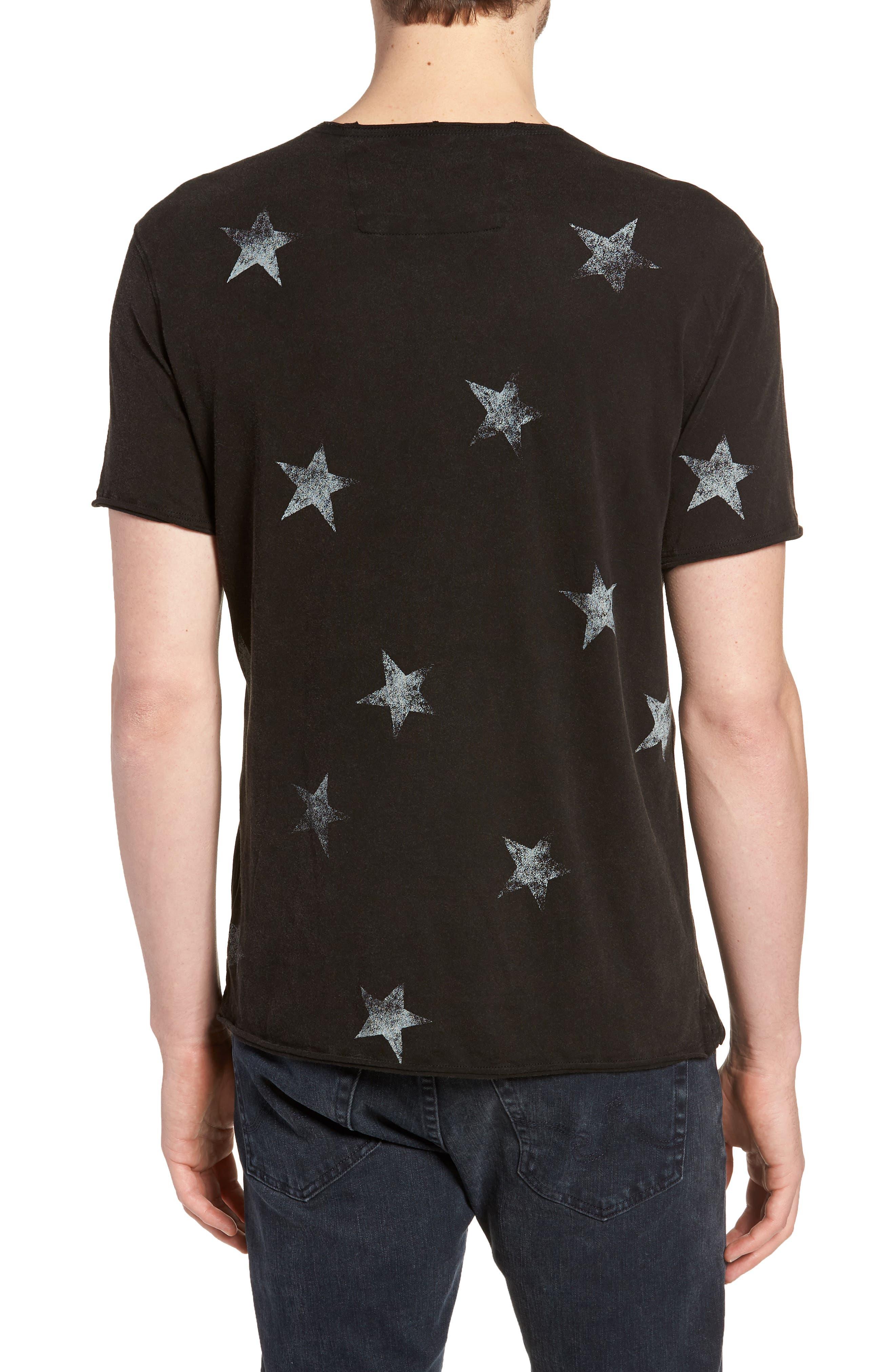 Regular Fit Crewneck T-Shirt,                             Alternate thumbnail 2, color,                             001