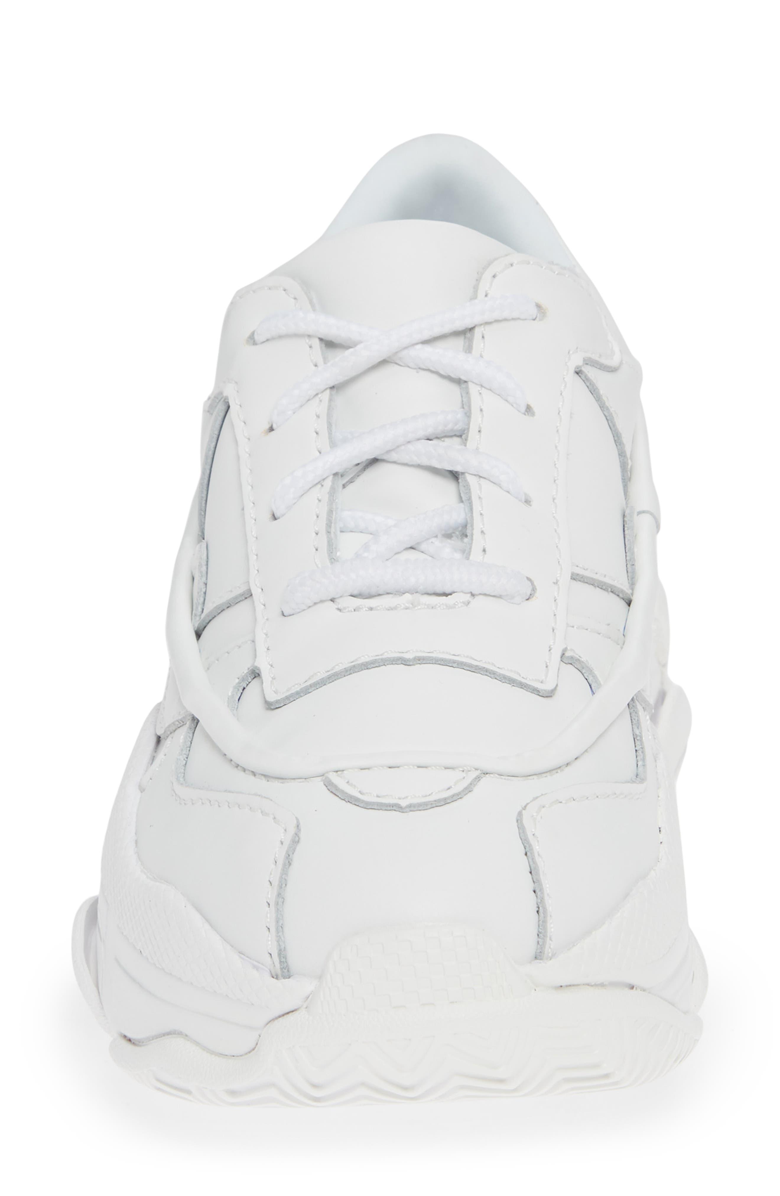 Malware Wedge Sneaker,                             Alternate thumbnail 4, color,                             WHITE