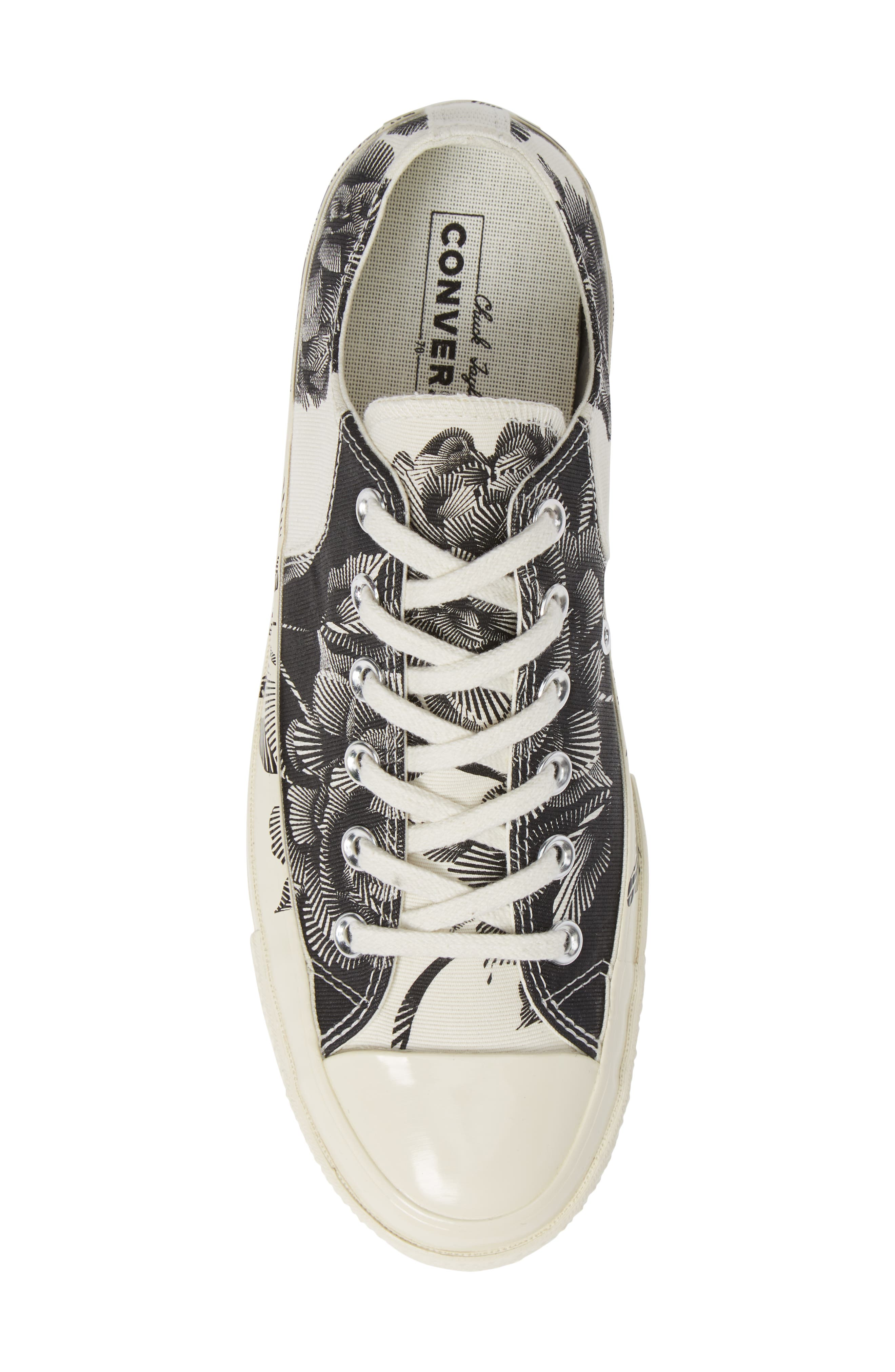 CT 70 Peony Low Top Sneaker,                             Alternate thumbnail 5, color,                             001
