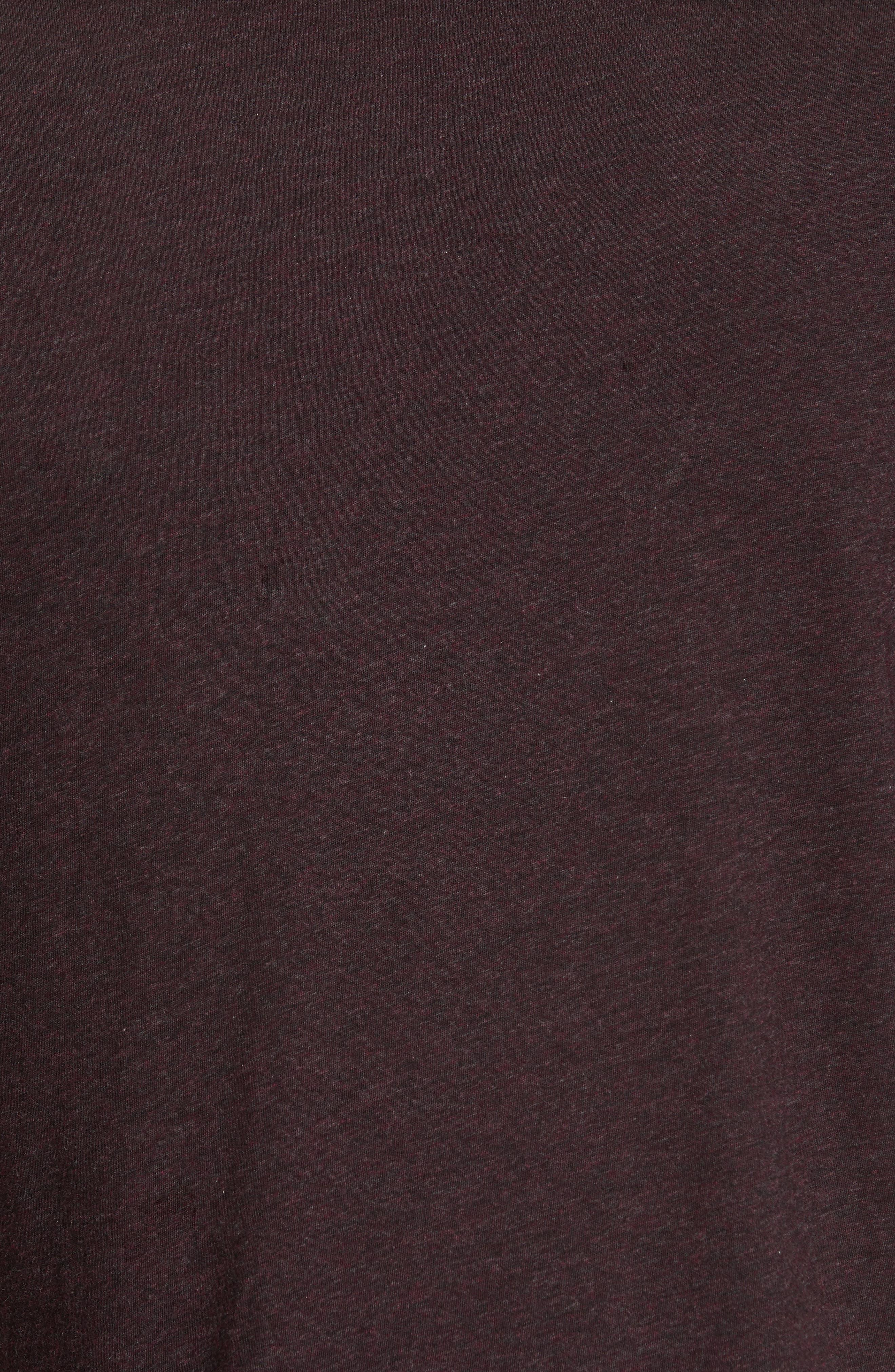 Long Sleeve T-Shirt,                             Alternate thumbnail 5, color,                             PORT