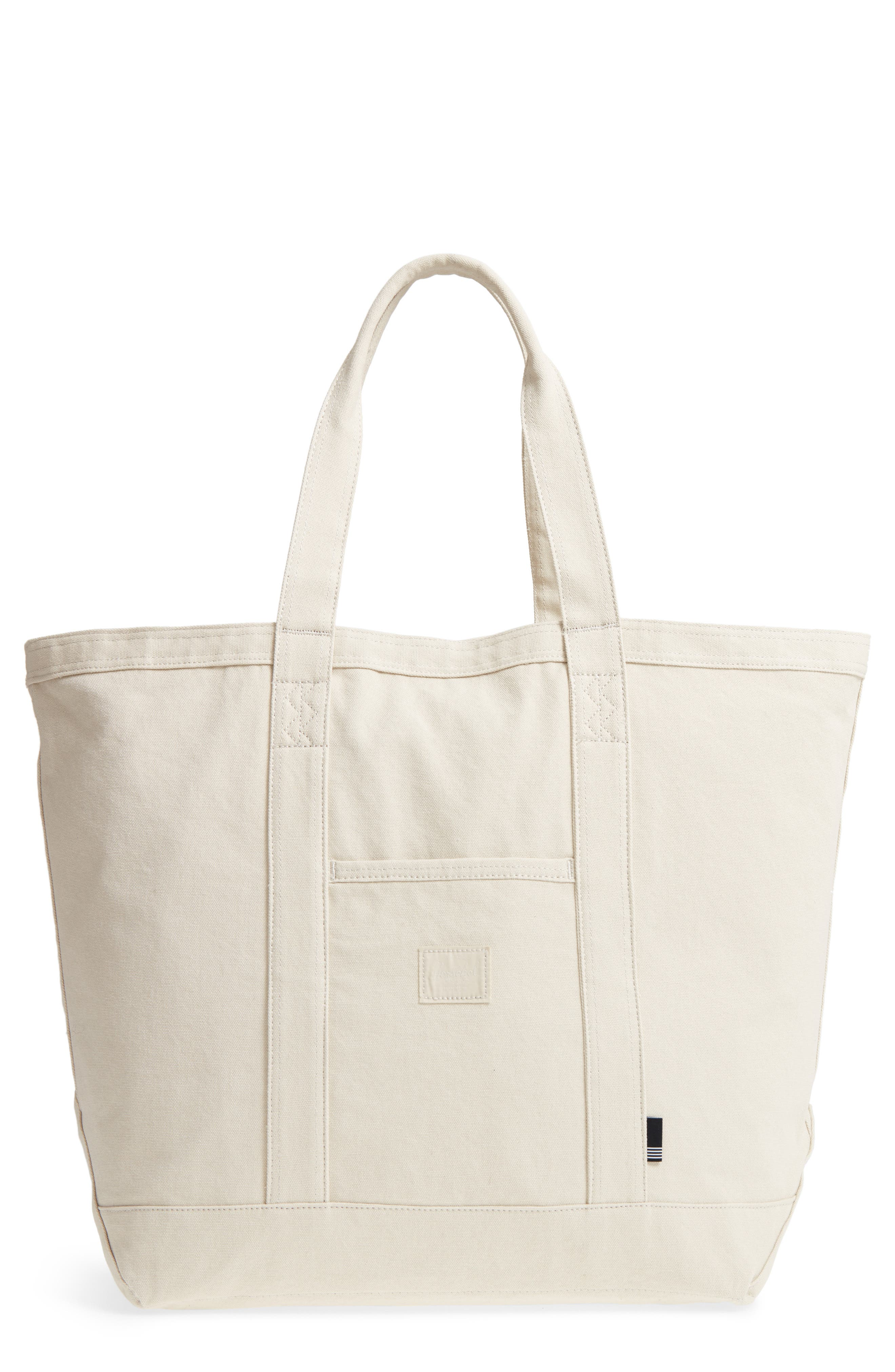 Bamfield Cotton Canvas Tote,                             Main thumbnail 2, color,