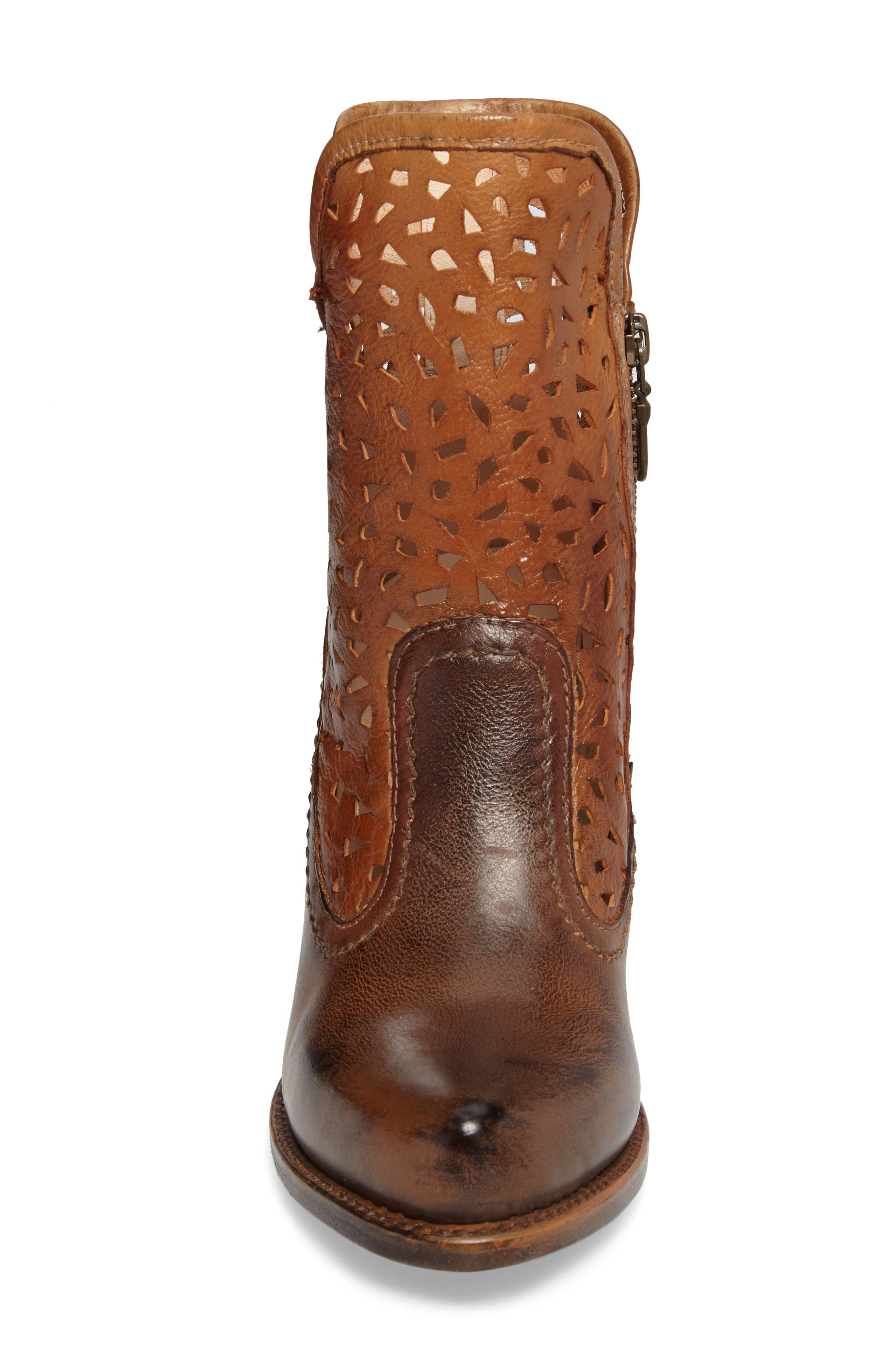 Irma Perforated Boot,                             Alternate thumbnail 8, color,
