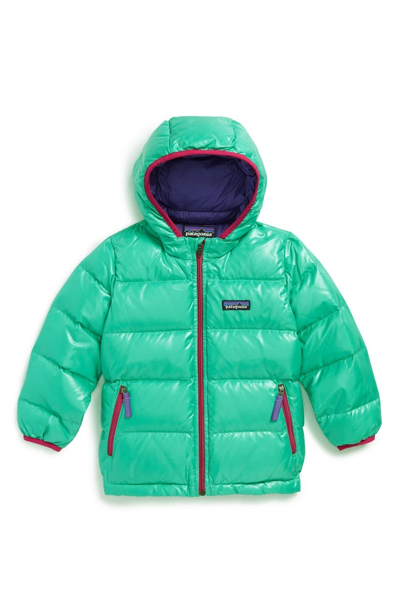 5820cb46fb0e Patagonia Hi-Loft Quilted Hooded Down Jacket (Toddler Girls)