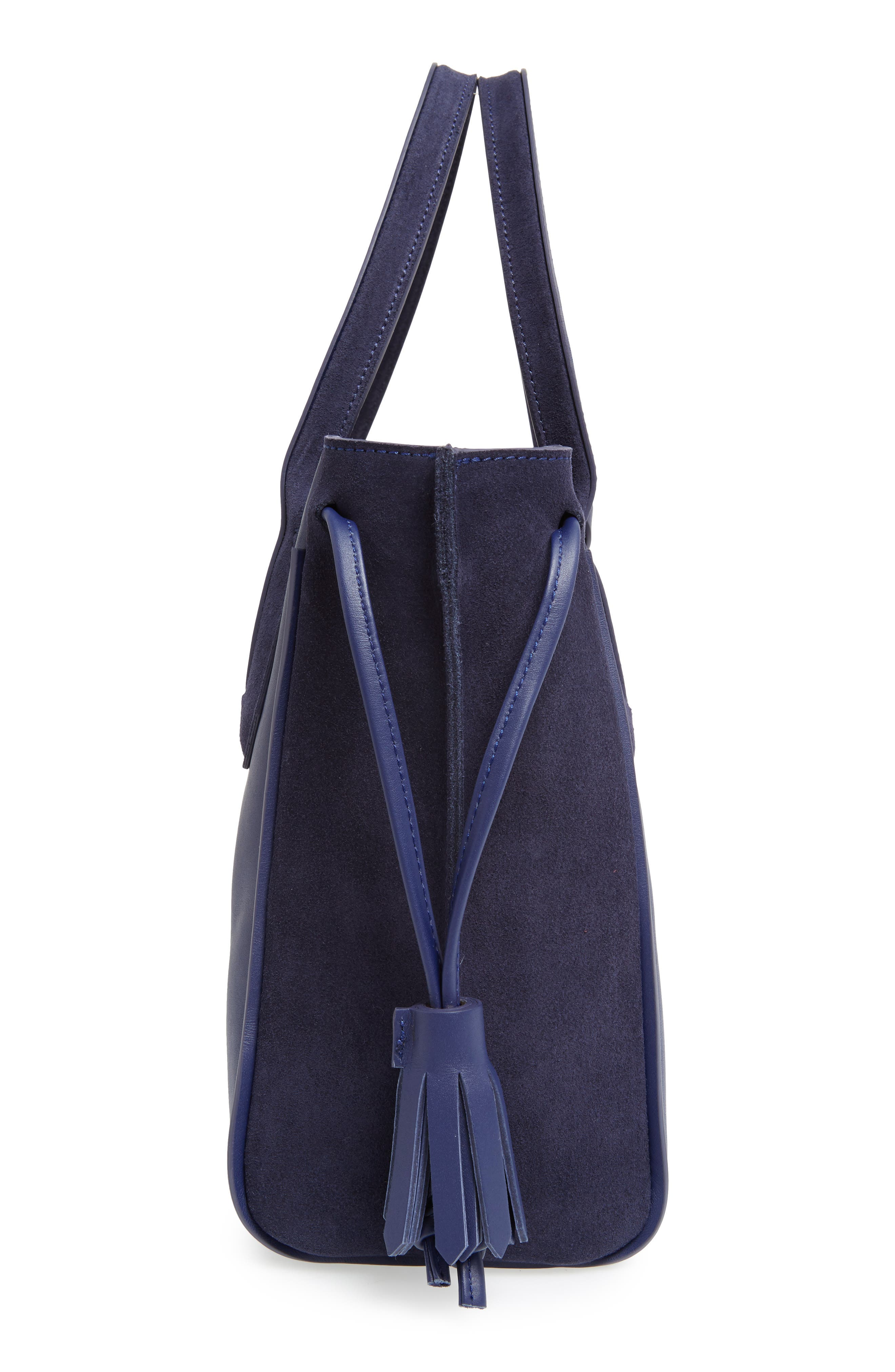 'Small Penelope Fantasie' Leather Tote,                             Alternate thumbnail 5, color,                             400