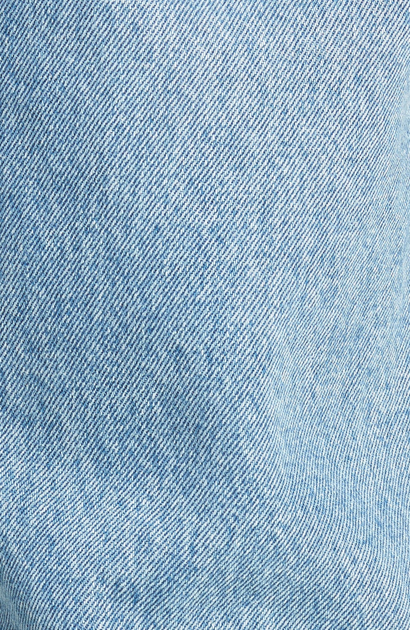 Mharky Slim Straight Leg Jeans,                             Alternate thumbnail 5, color,                             0076M