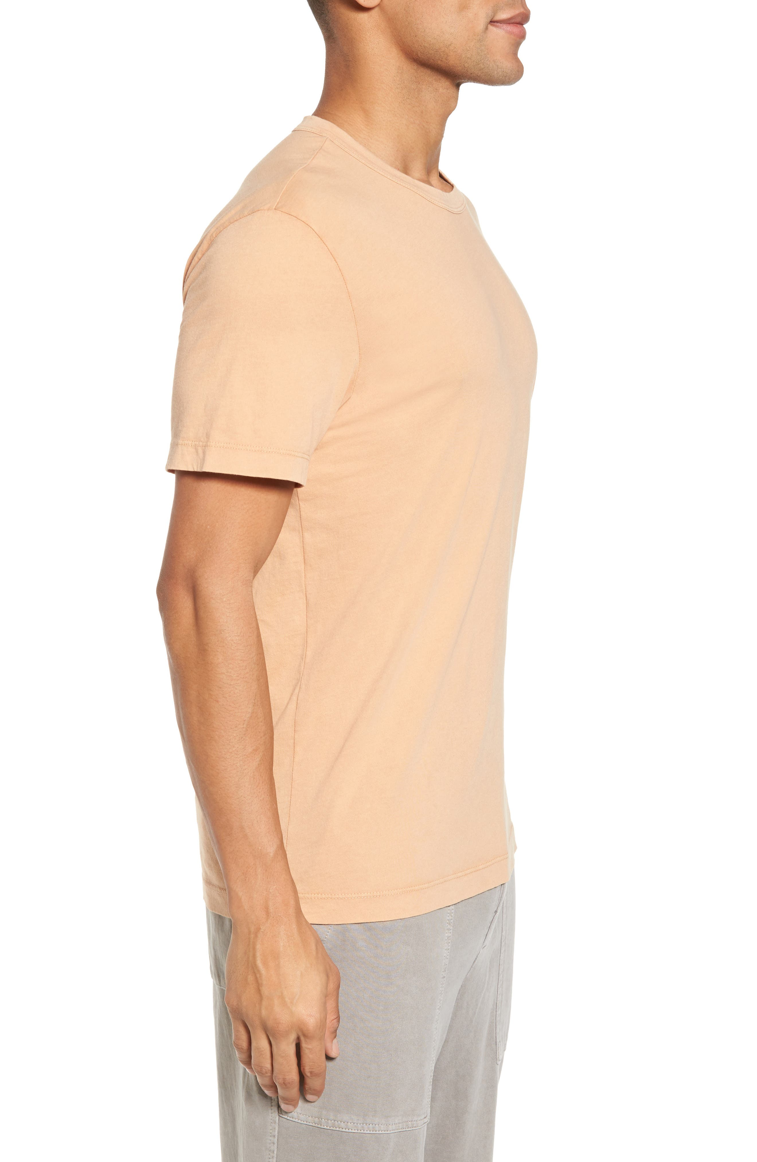 Crewneck Jersey T-Shirt,                             Alternate thumbnail 335, color,