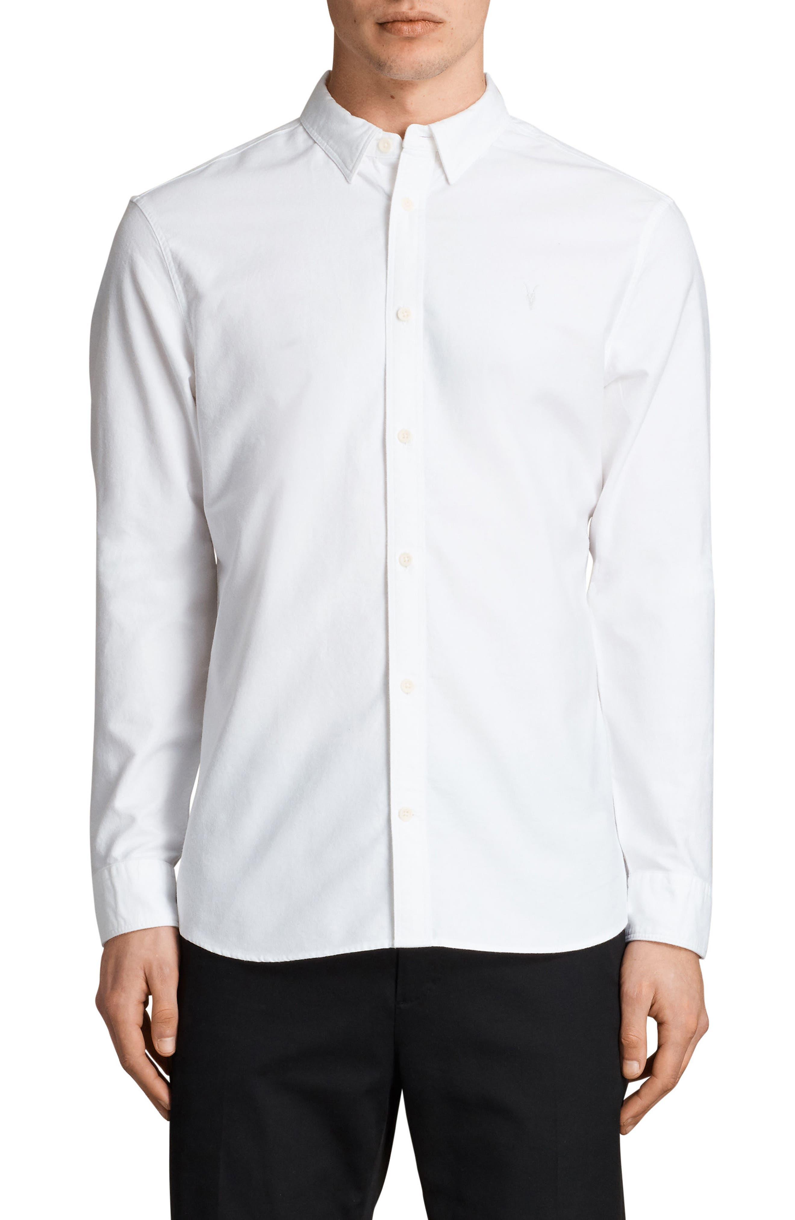 Huntington Regular Fit Sport Shirt,                             Main thumbnail 4, color,