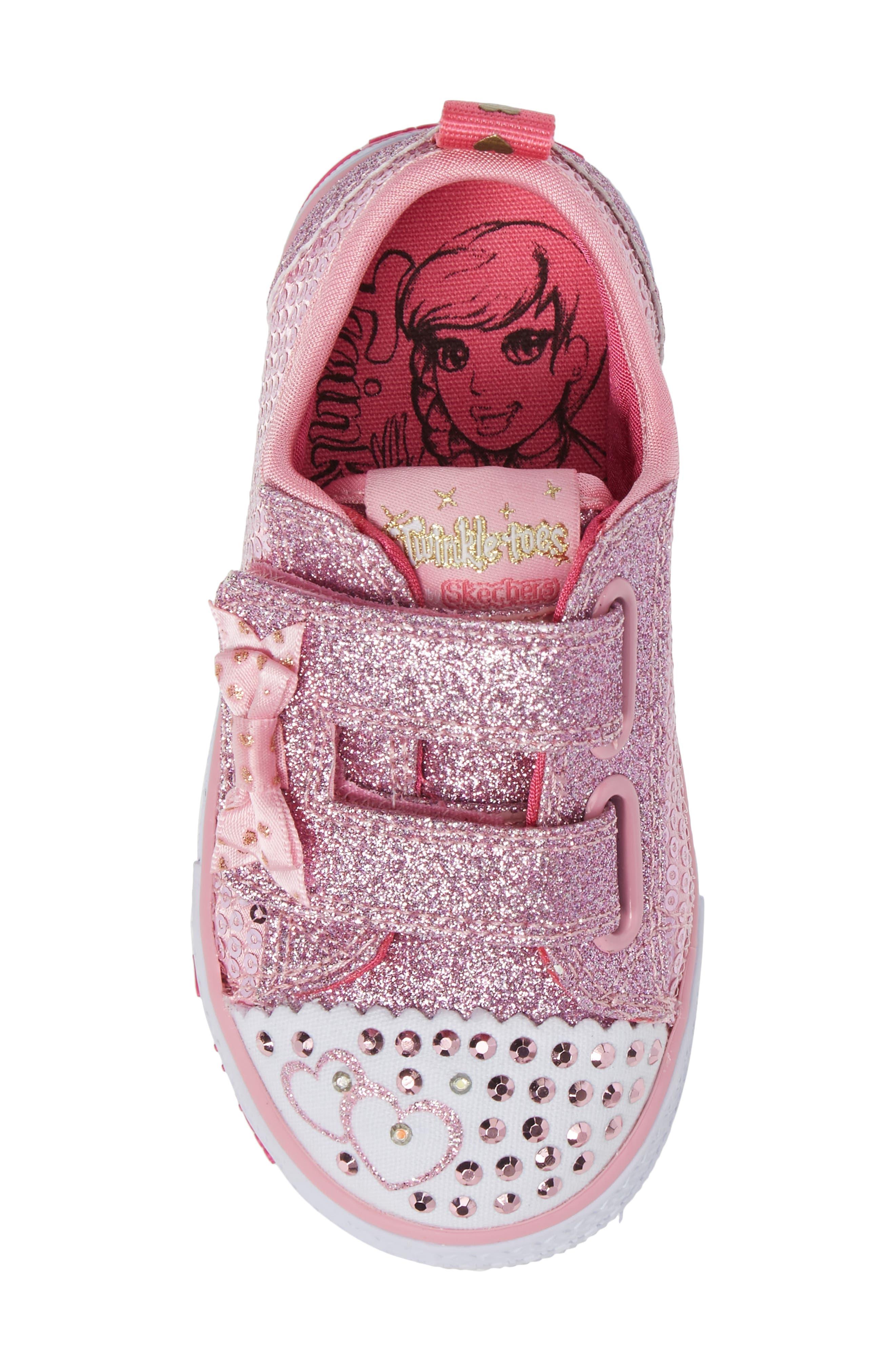 Shuffles - Itsy Bitsy Light-Up Sneaker,                             Alternate thumbnail 24, color,