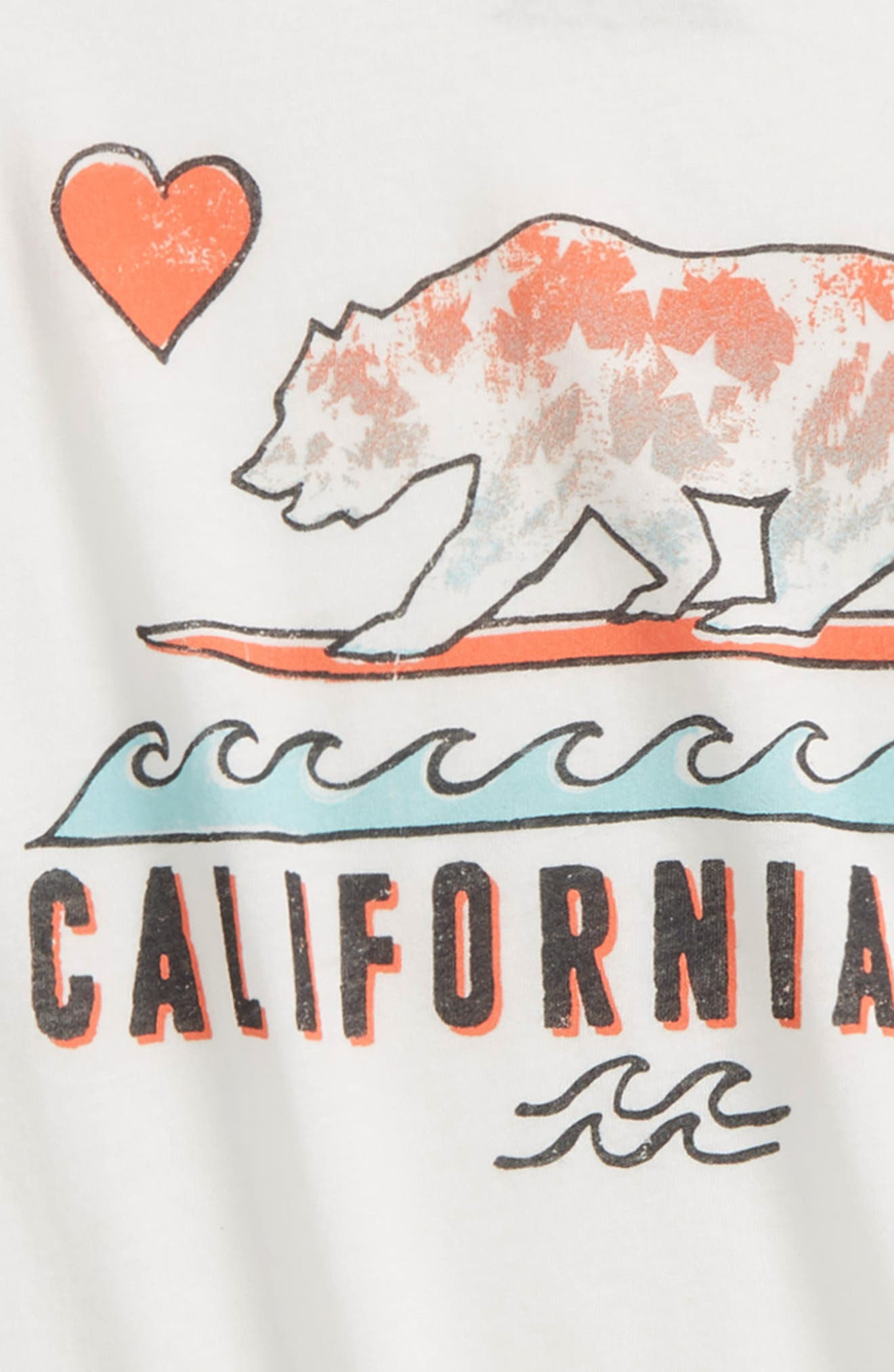 Cali Love Waves Graphic Tee,                             Alternate thumbnail 2, color,                             900