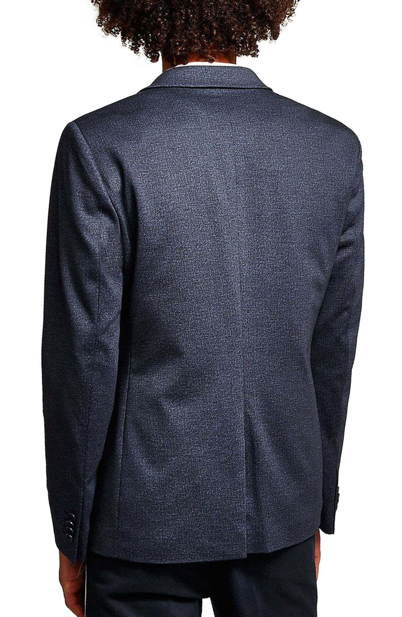 Classic Fit Sport Coat,                             Alternate thumbnail 2, color,                             DARK BLUE