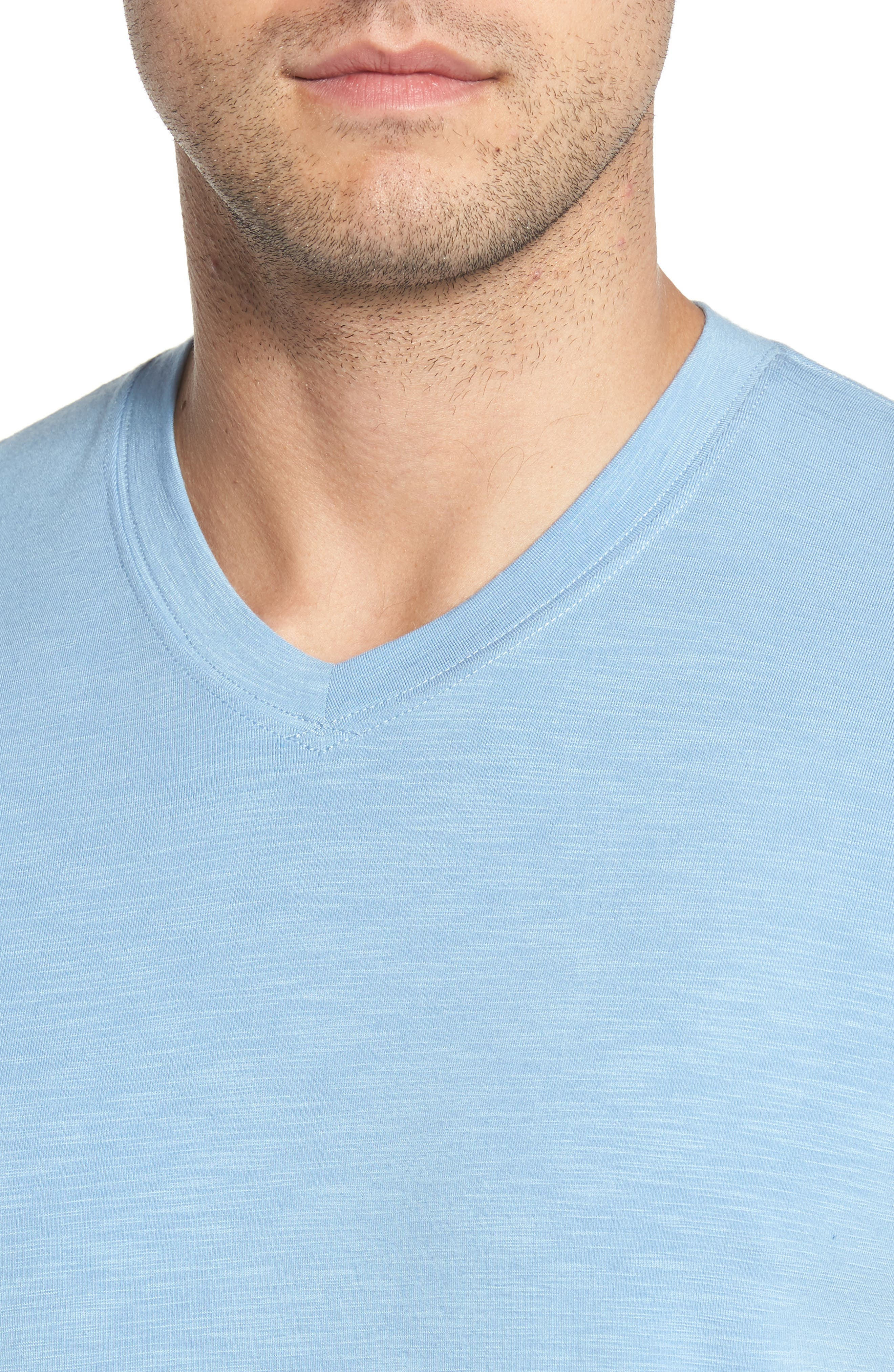 'Trumbull' Trim Fit Slubbed T-Shirt,                             Alternate thumbnail 4, color,                             020