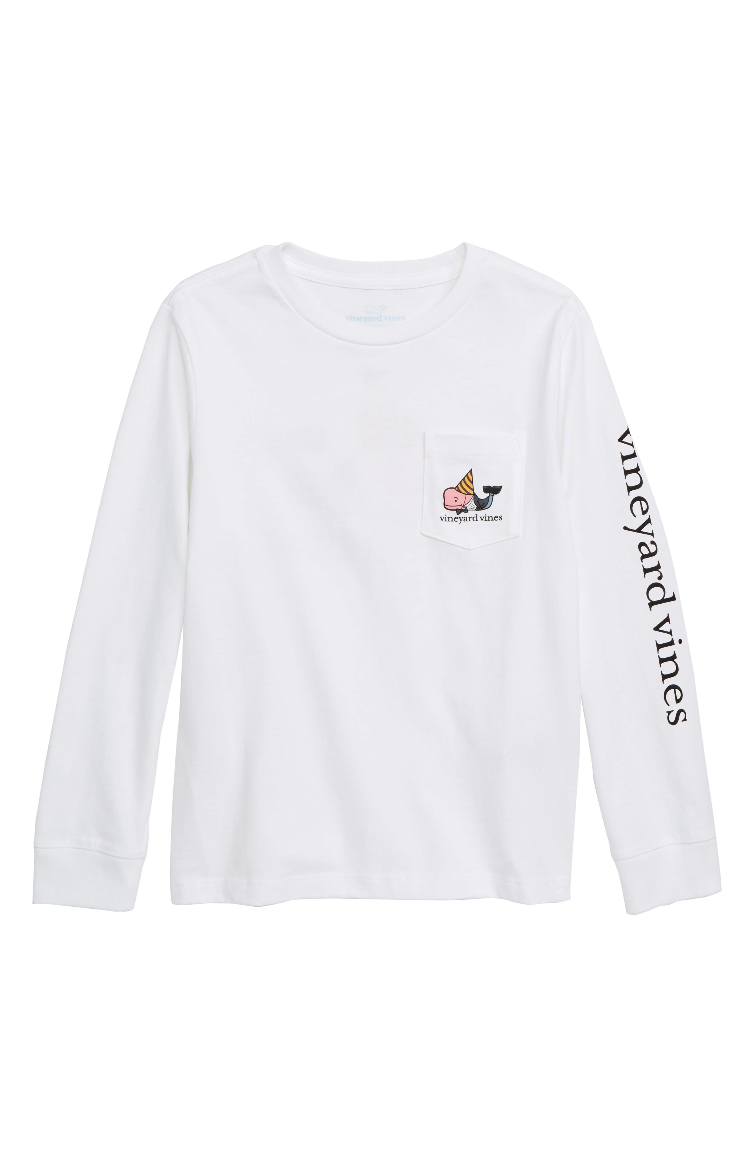 Dapper New Years Pocket T-Shirt,                         Main,                         color, WHITE CAP