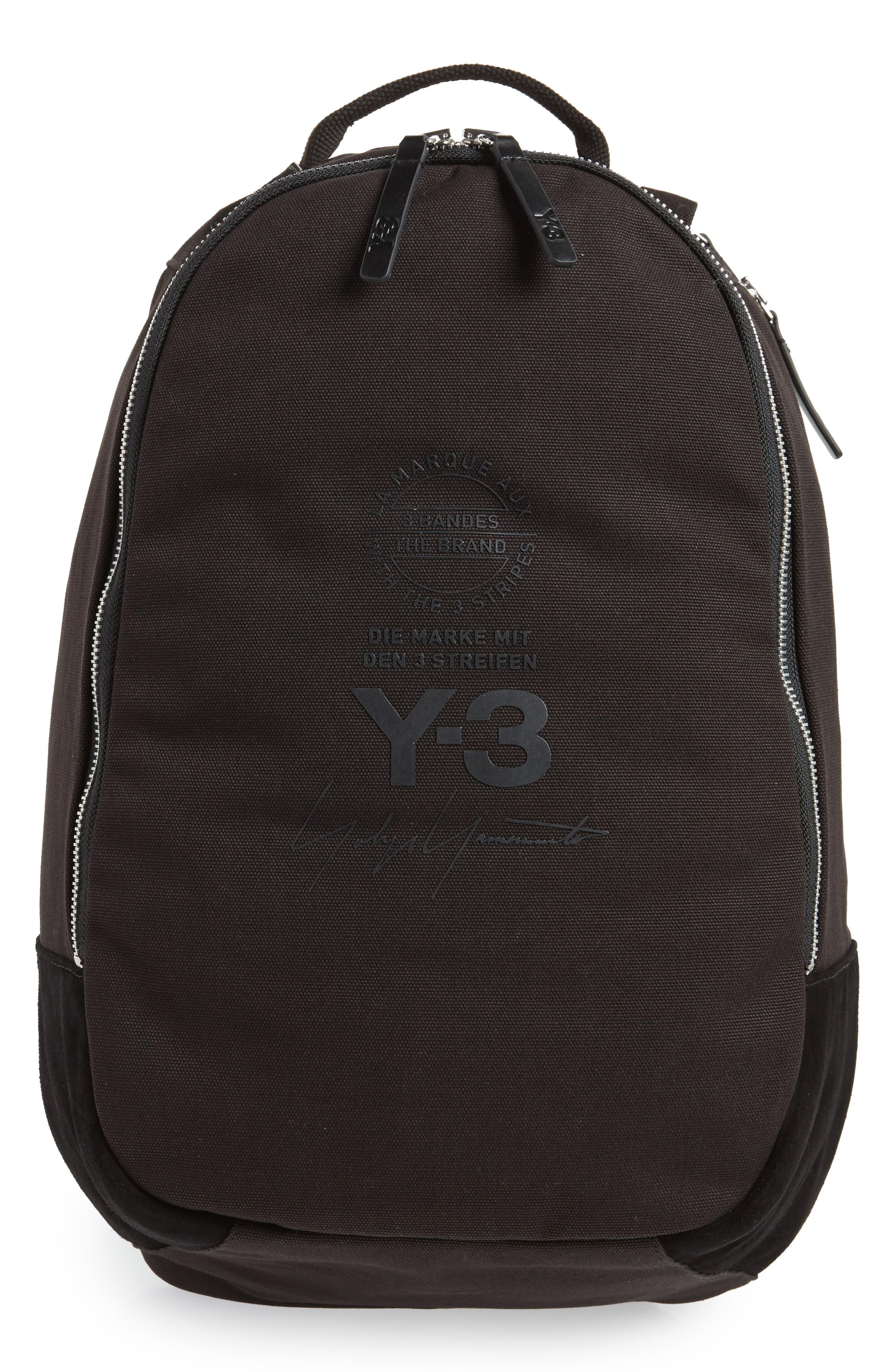 Logo Print Backpack,                         Main,                         color,