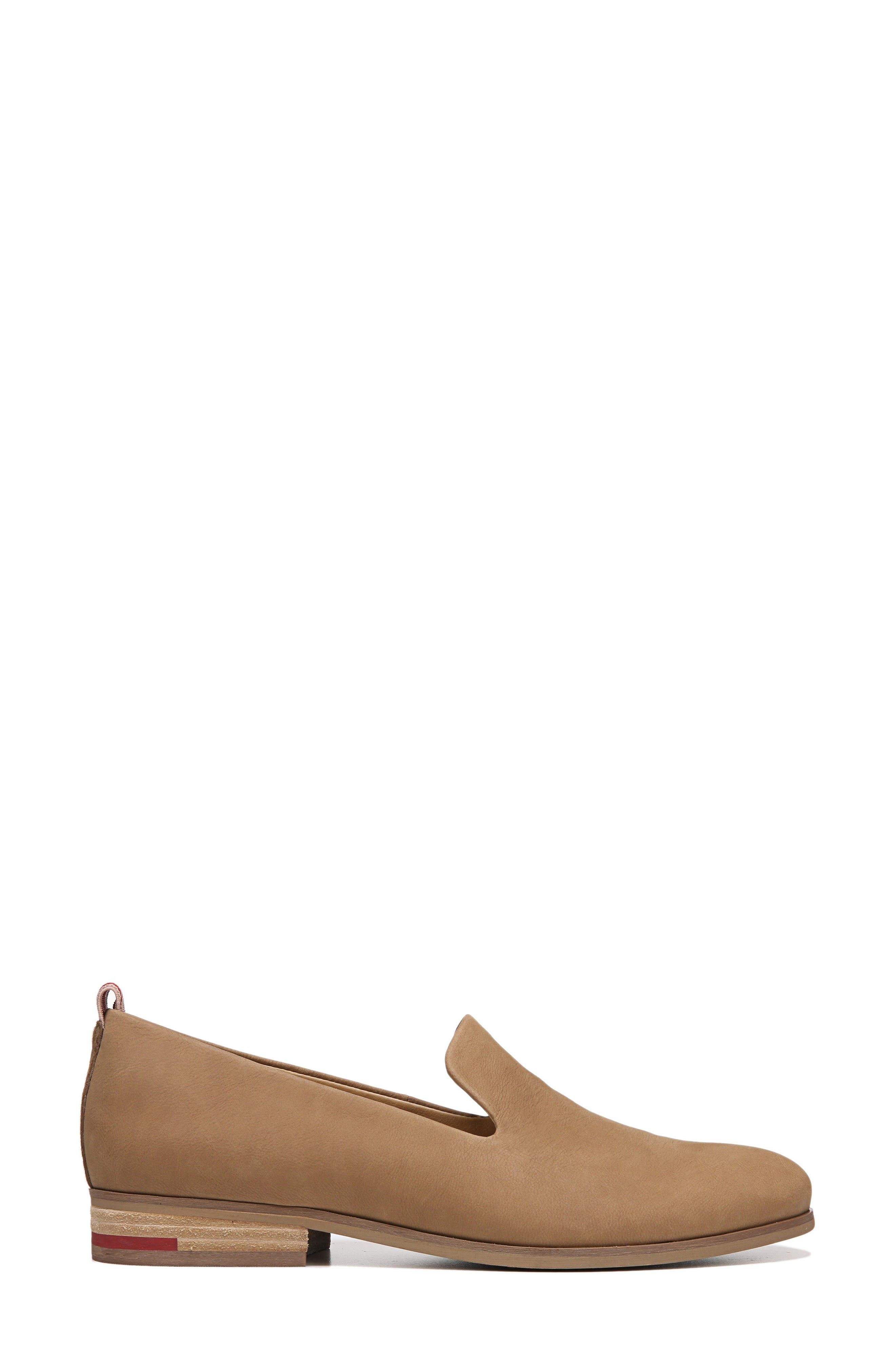 East Flat,                             Alternate thumbnail 3, color,                             BROWN LEATHER