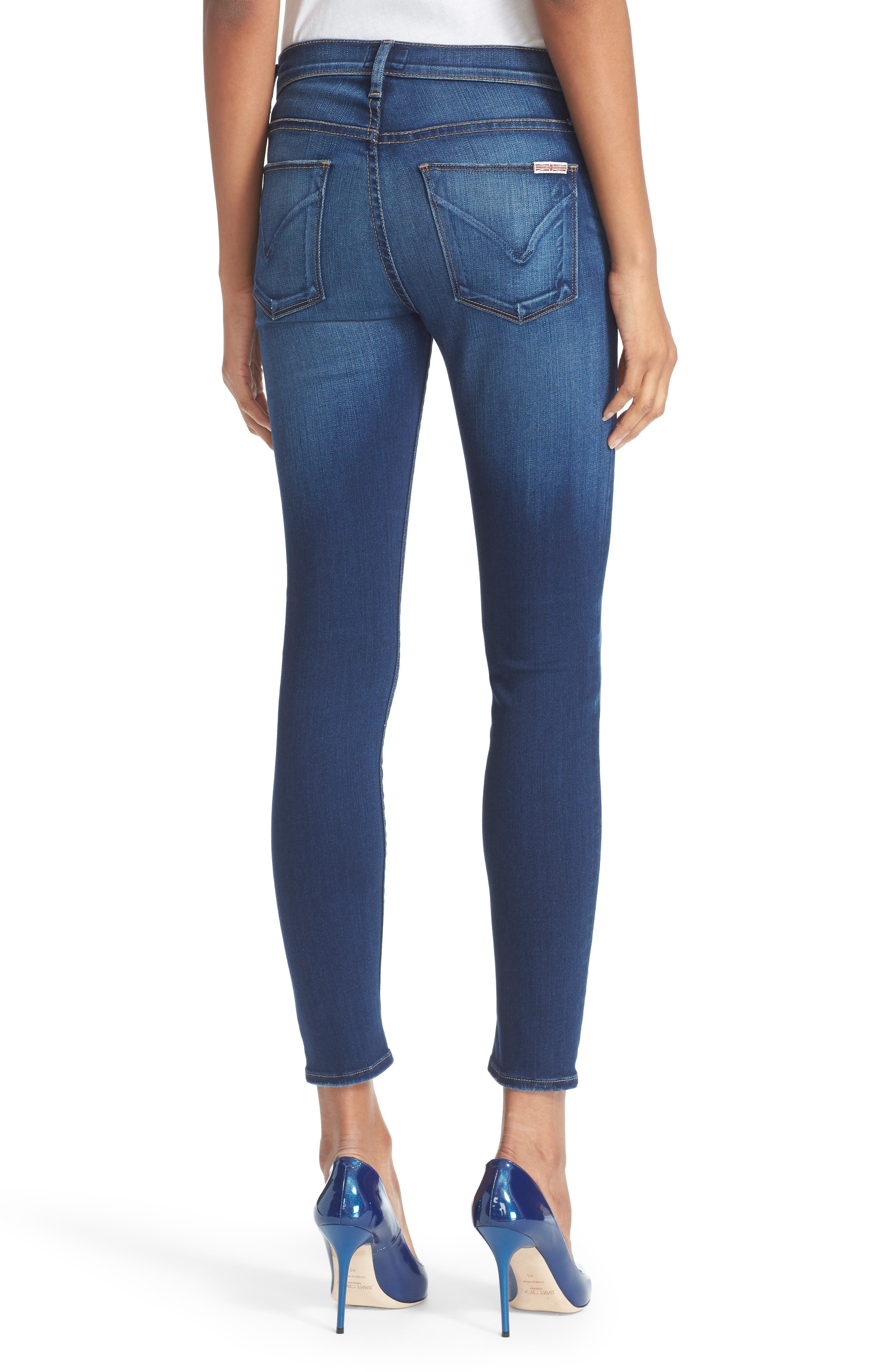 'Nico' Ankle Skinny Jeans (Calvary)<br />,                             Alternate thumbnail 3, color,                             421