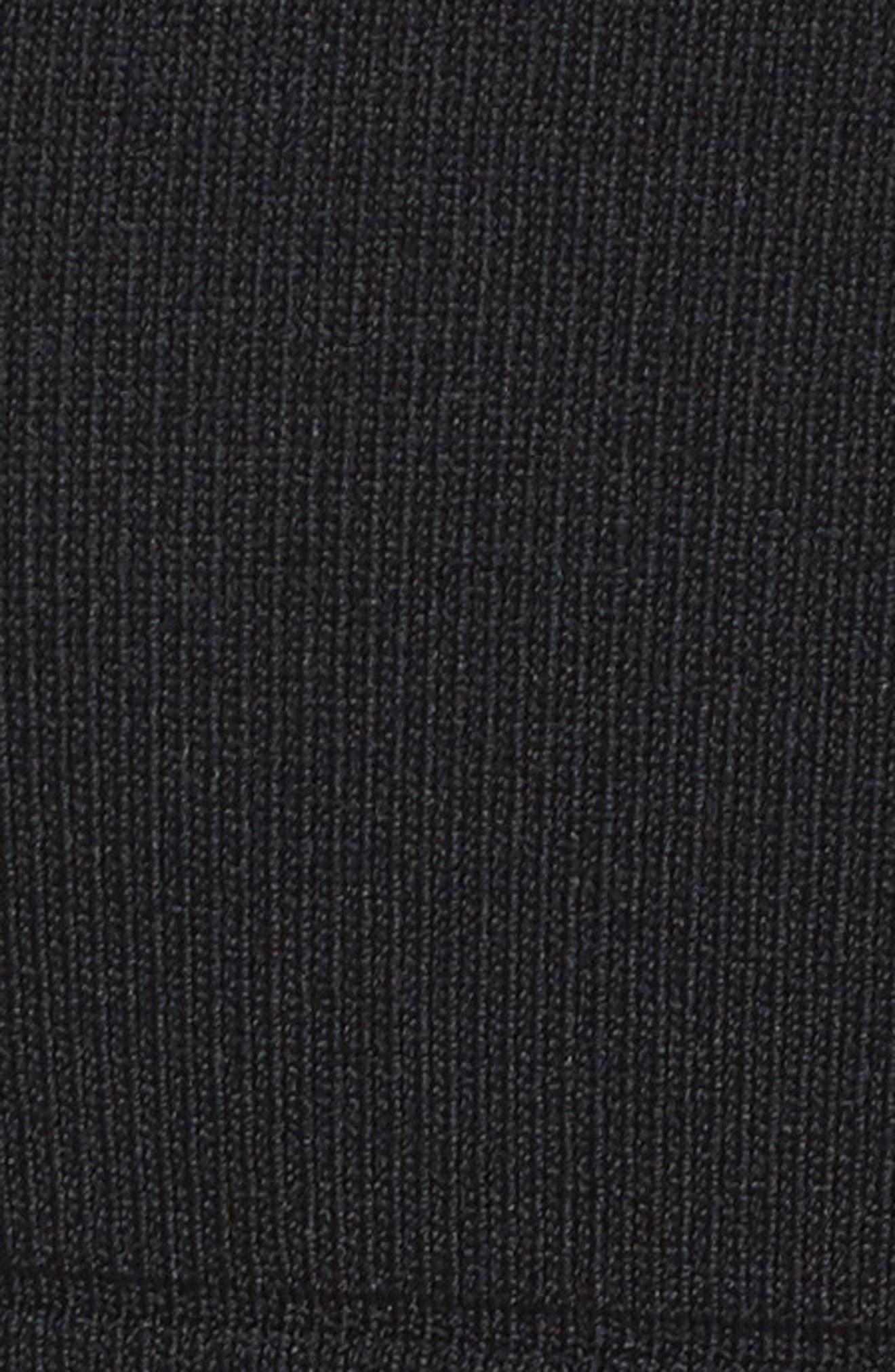 Illusion Mesh Body-Con Dress,                             Alternate thumbnail 5, color,                             001