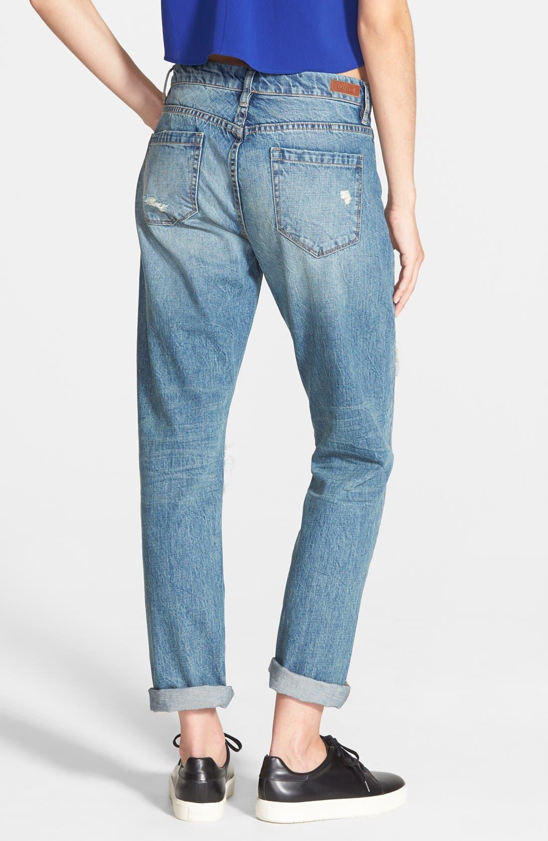 Boyfriend Jeans,                             Alternate thumbnail 2, color,                             400