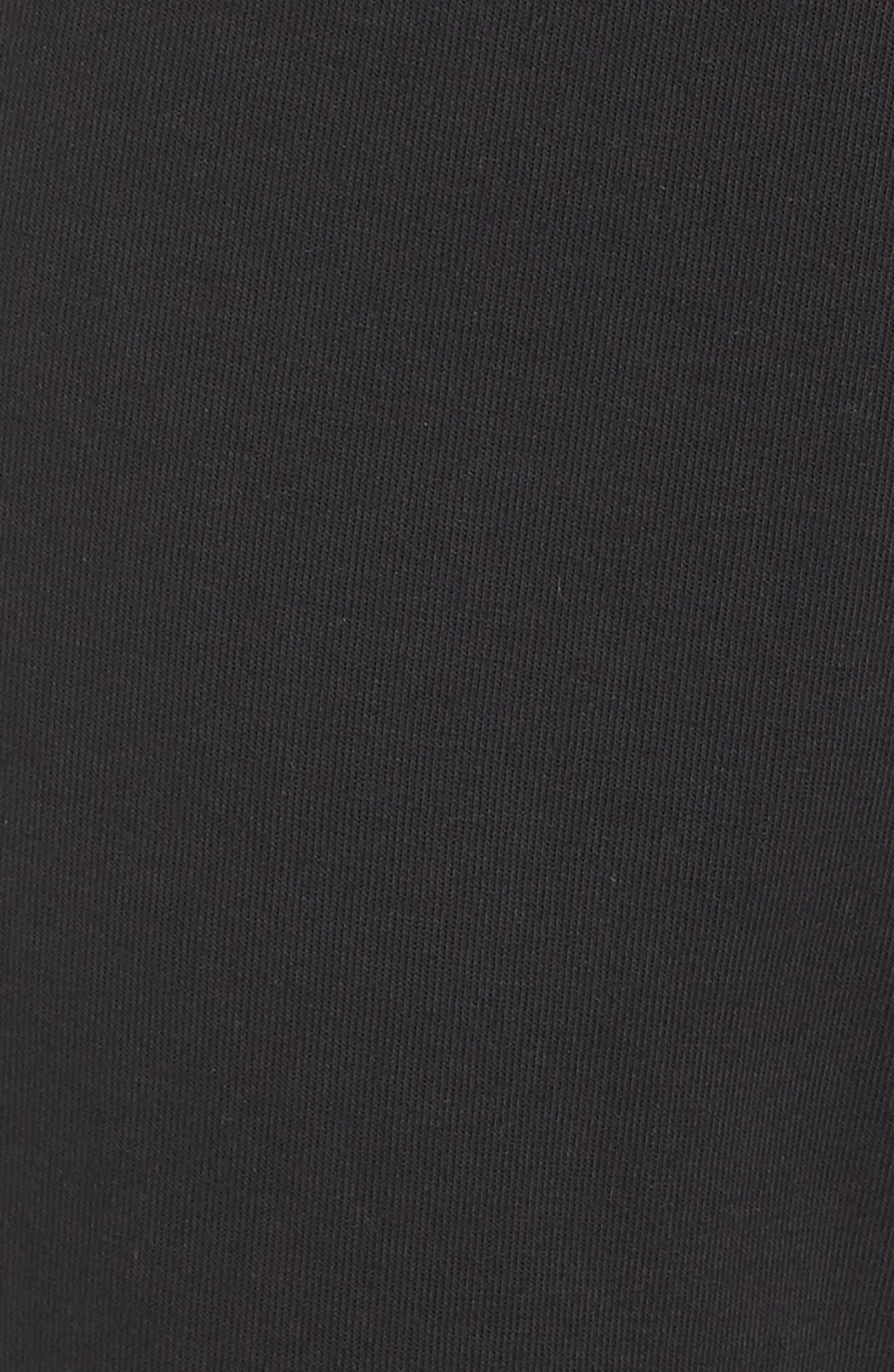 Stadium Pants,                             Alternate thumbnail 6, color,                             BLACK/ BLACK
