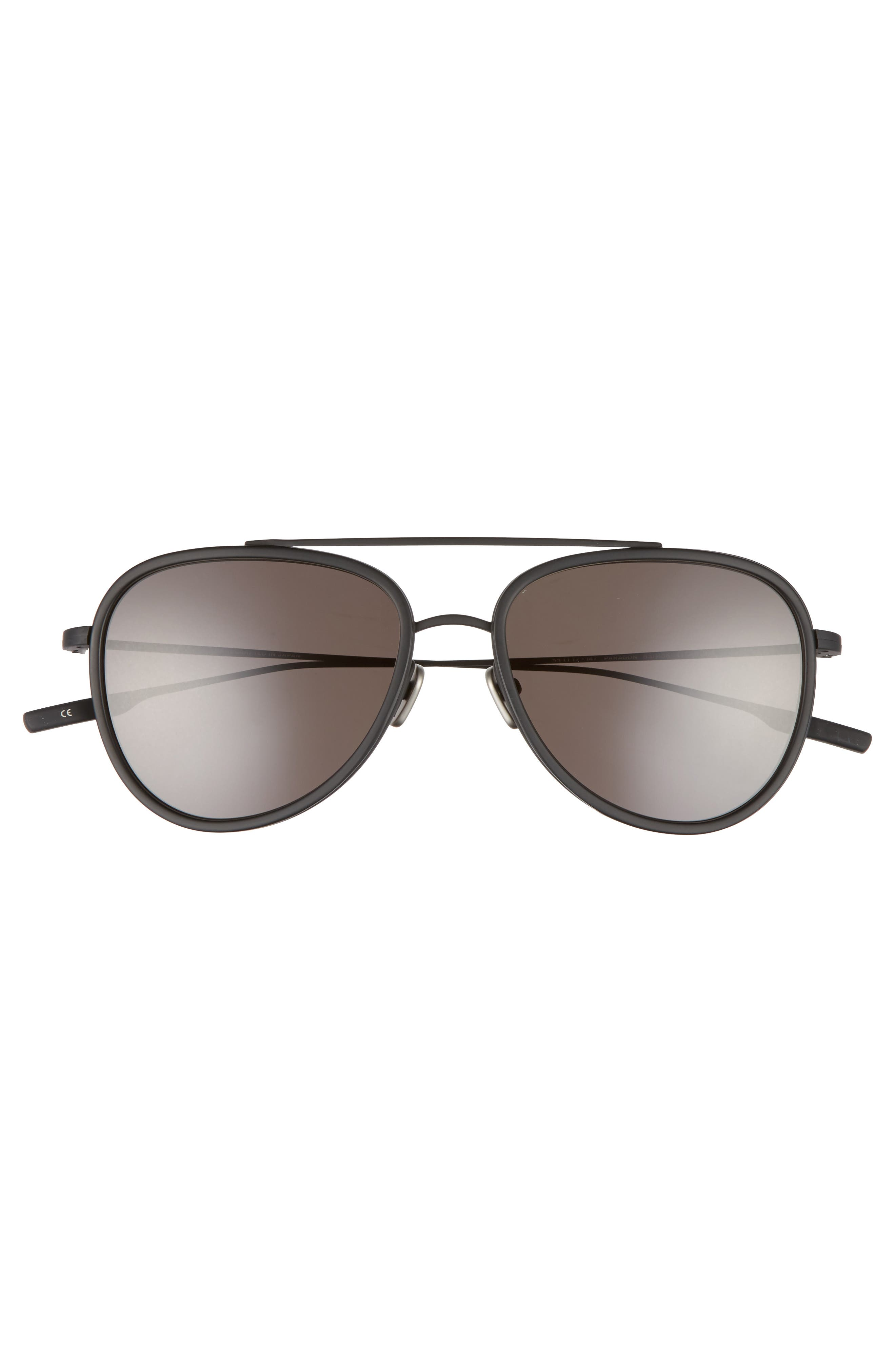 Paragon 55mm Polarized Aviator Sunglasses,                             Alternate thumbnail 2, color,                             010