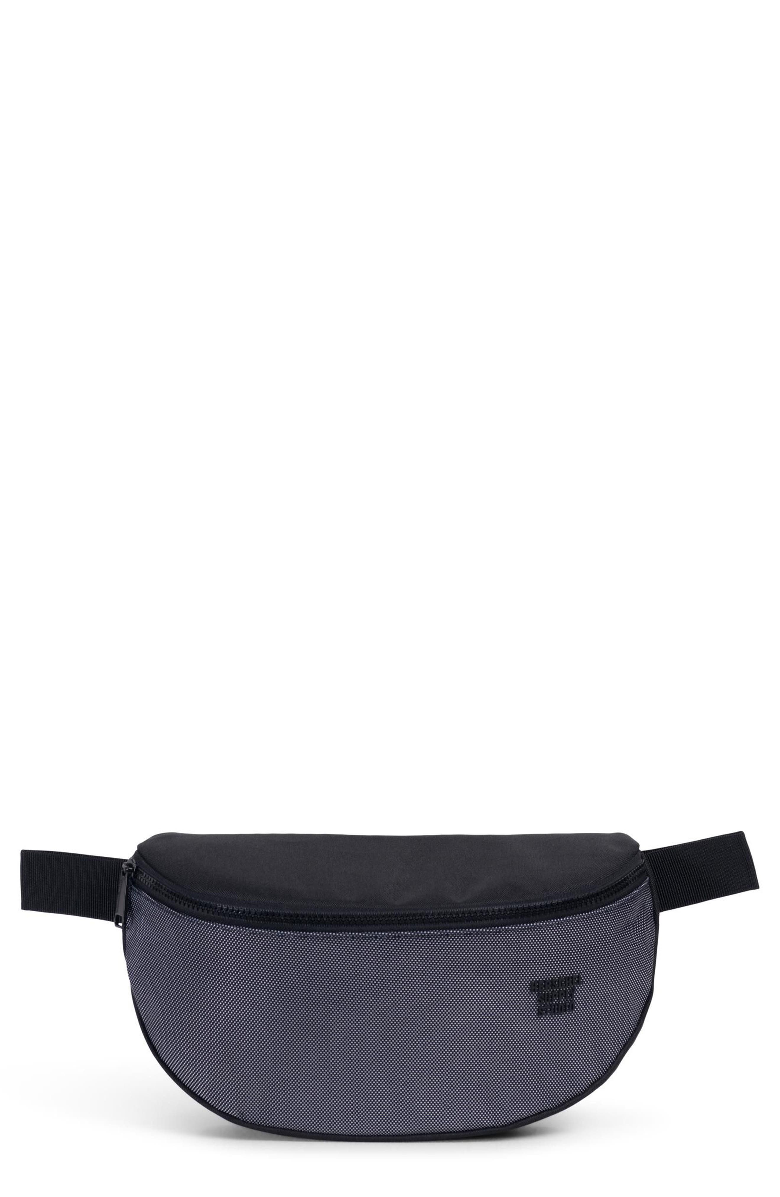 Sixteen Studio Belt Bag,                             Main thumbnail 1, color,                             BLACK