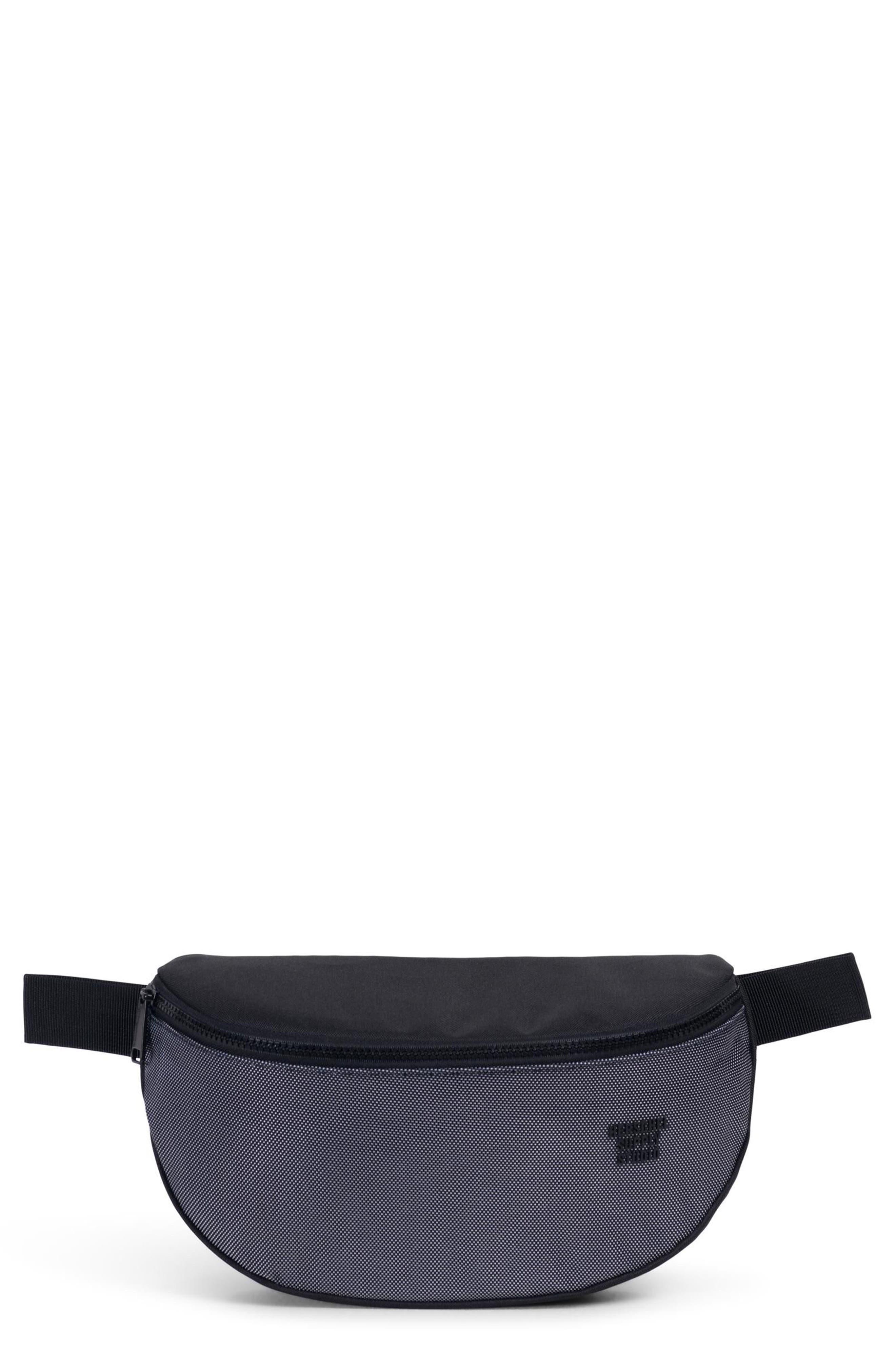 Sixteen Studio Belt Bag,                         Main,                         color, BLACK