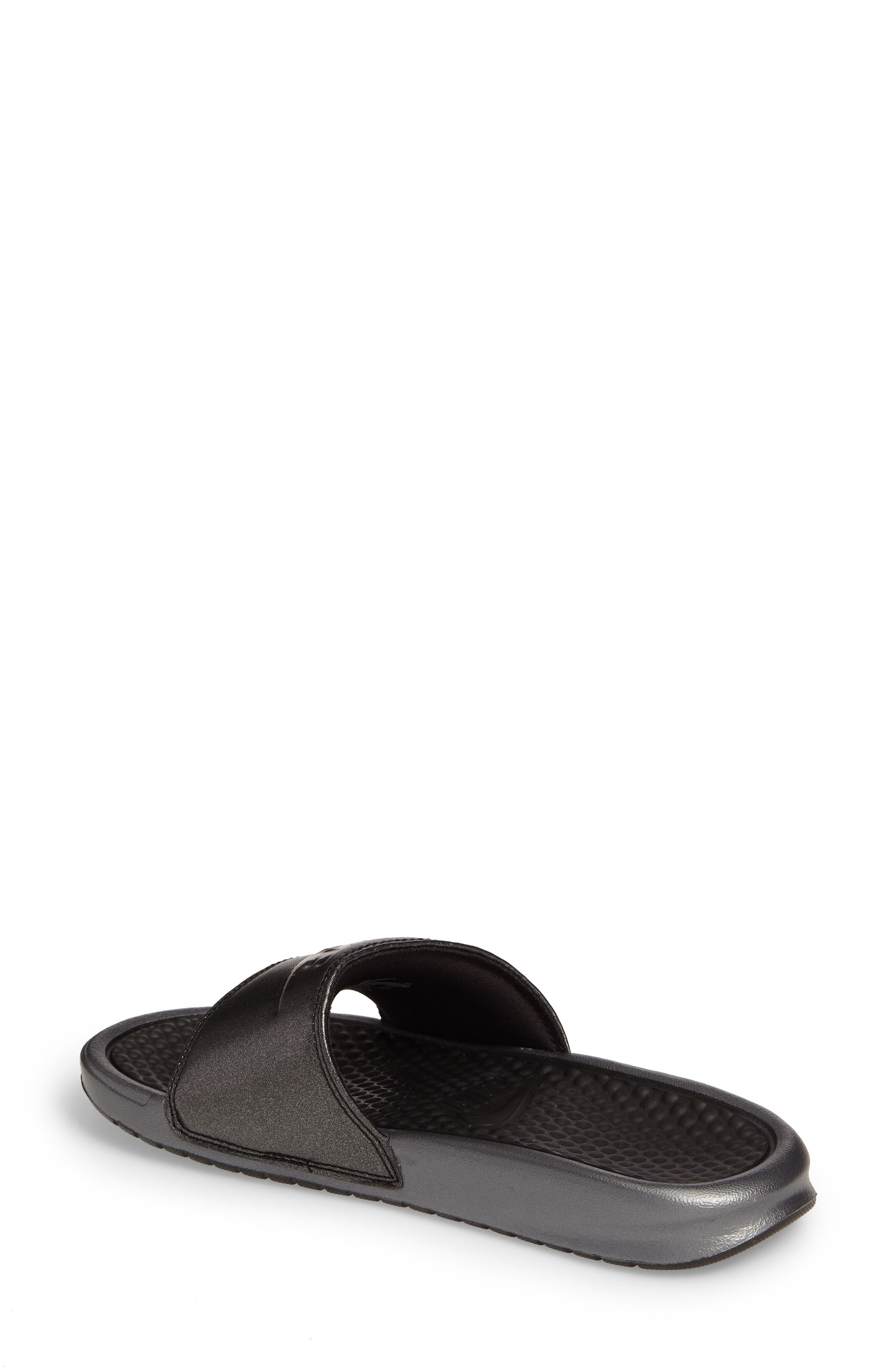 Benassi Slide Sandal,                             Alternate thumbnail 2, color,                             001