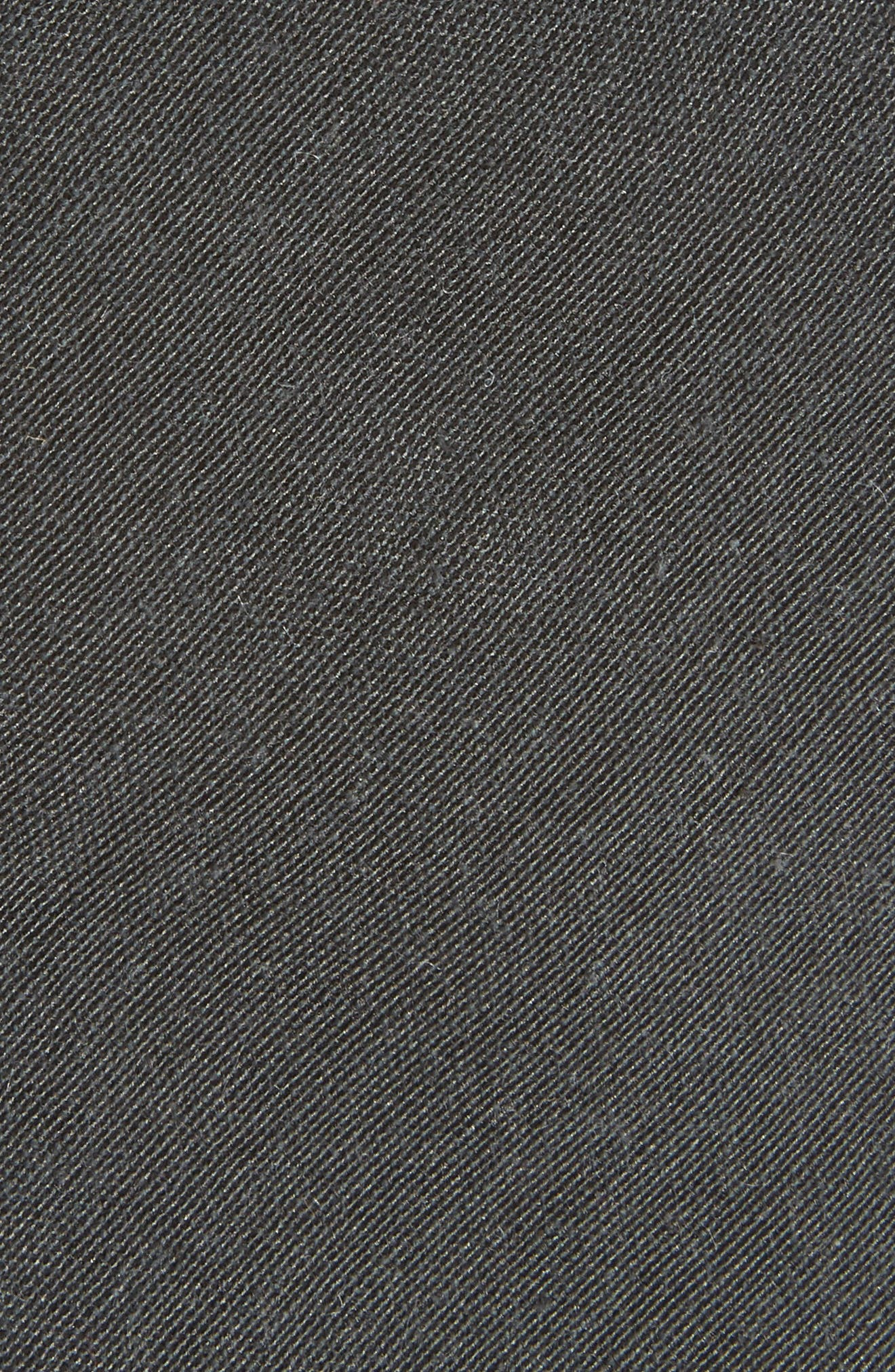 Solid Tie,                             Alternate thumbnail 2, color,                             BLACK