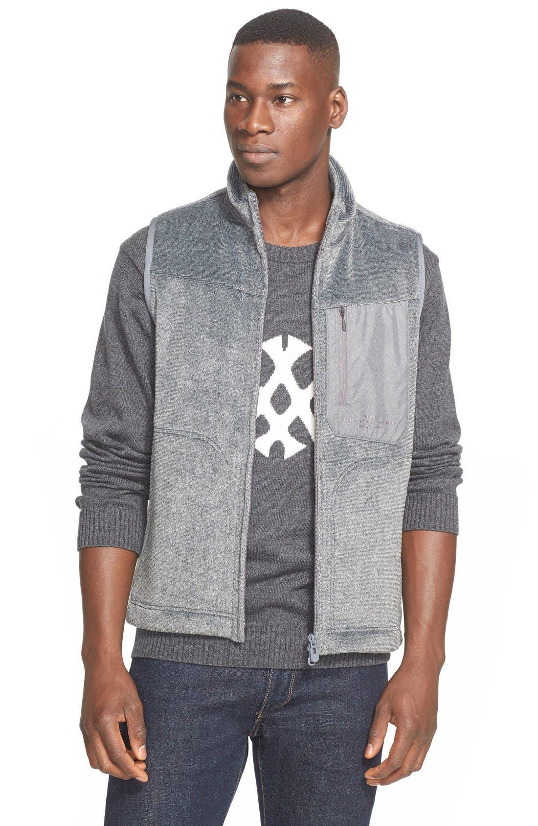 Fleece Vest, Main, color, 030