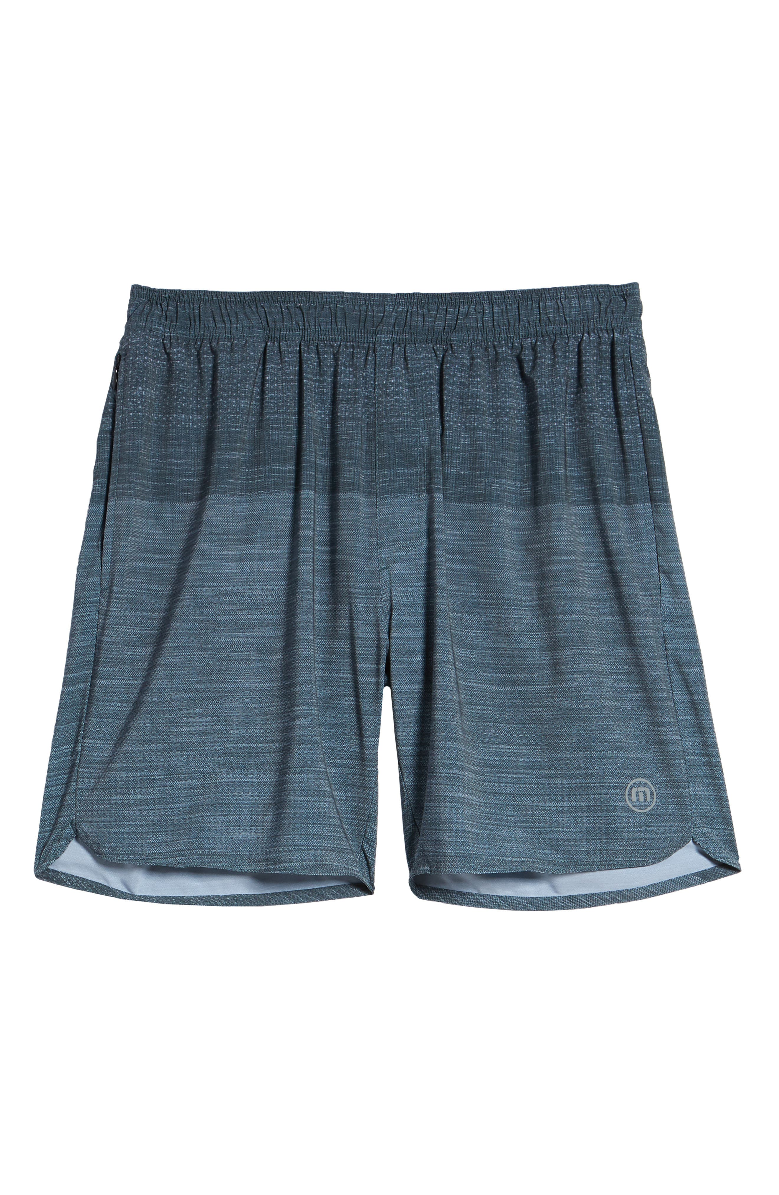 Tempo Performance Shorts,                             Alternate thumbnail 6, color,                             HEATHER QUIET SHADE