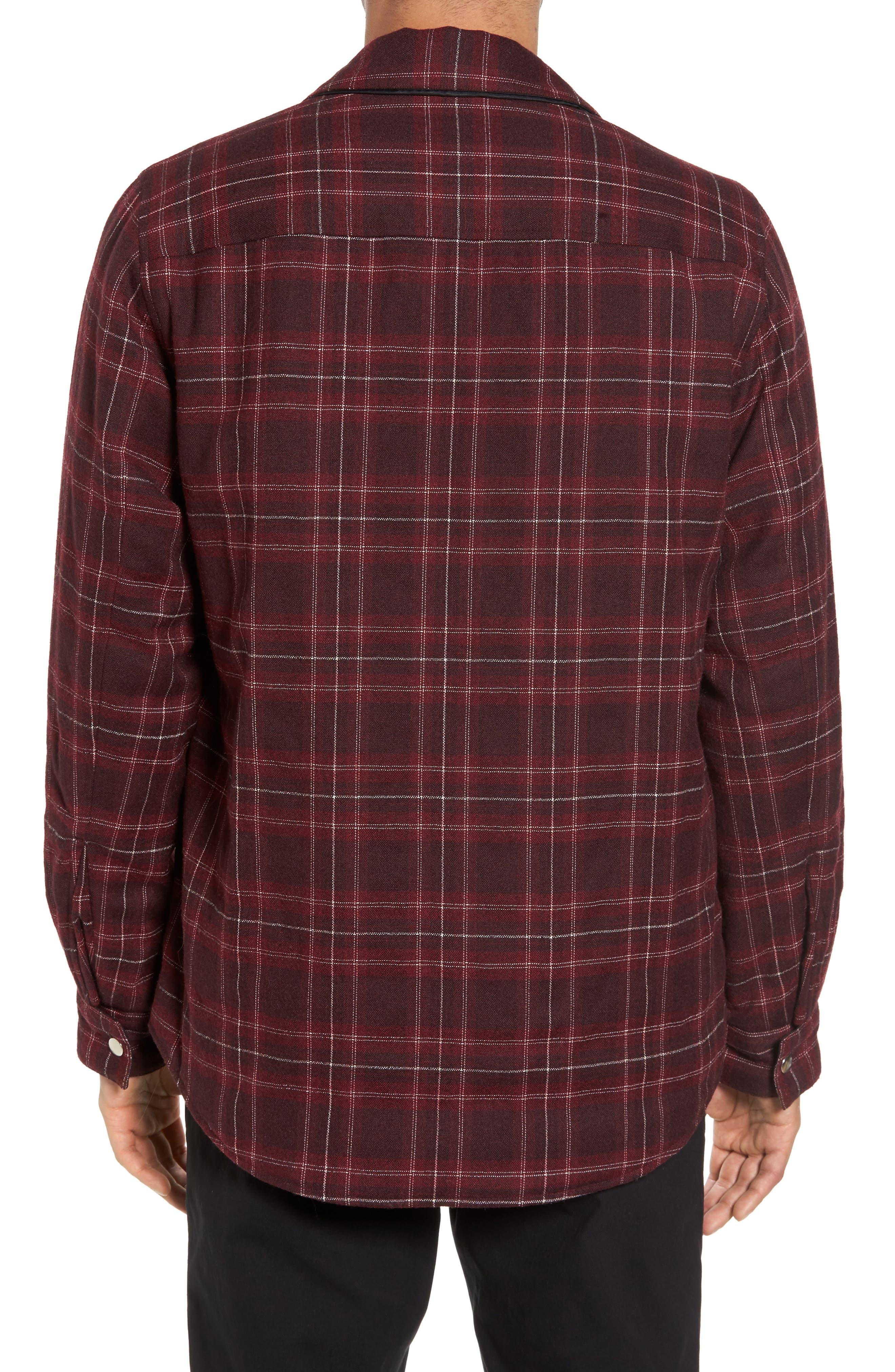 Reversible Zip Front Shirt Jacket,                             Alternate thumbnail 2, color,