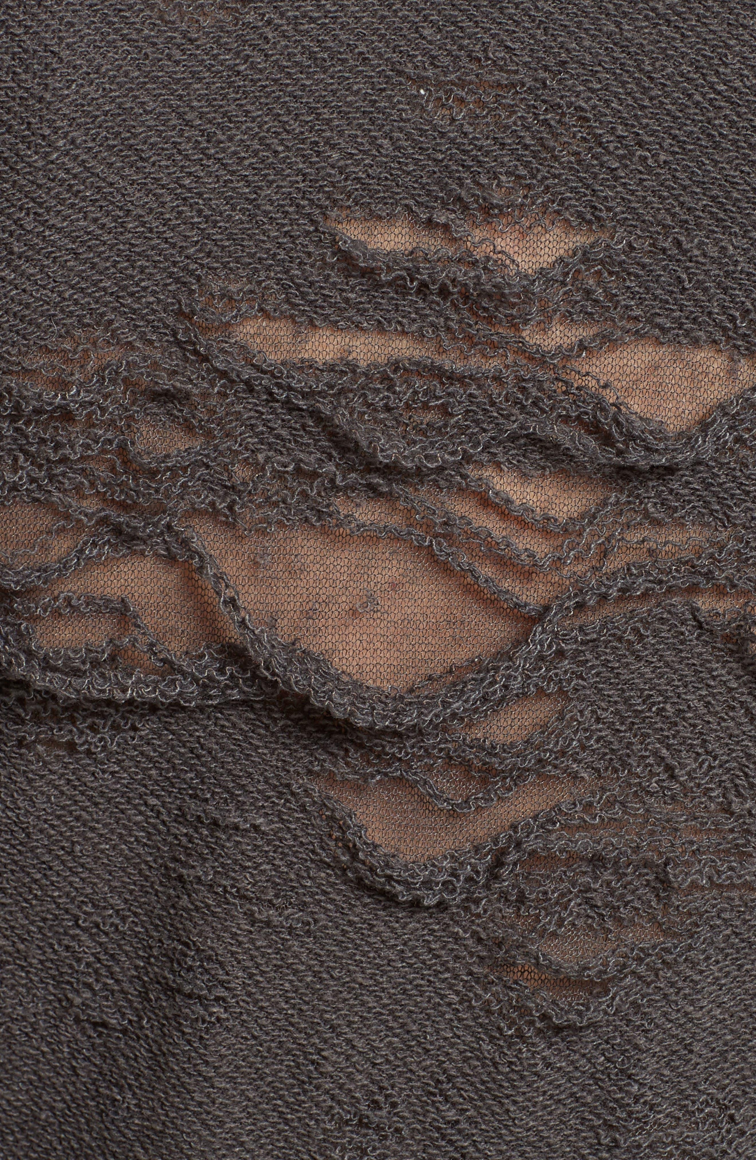 Cevoc Distressed Dress,                             Alternate thumbnail 5, color,                             029