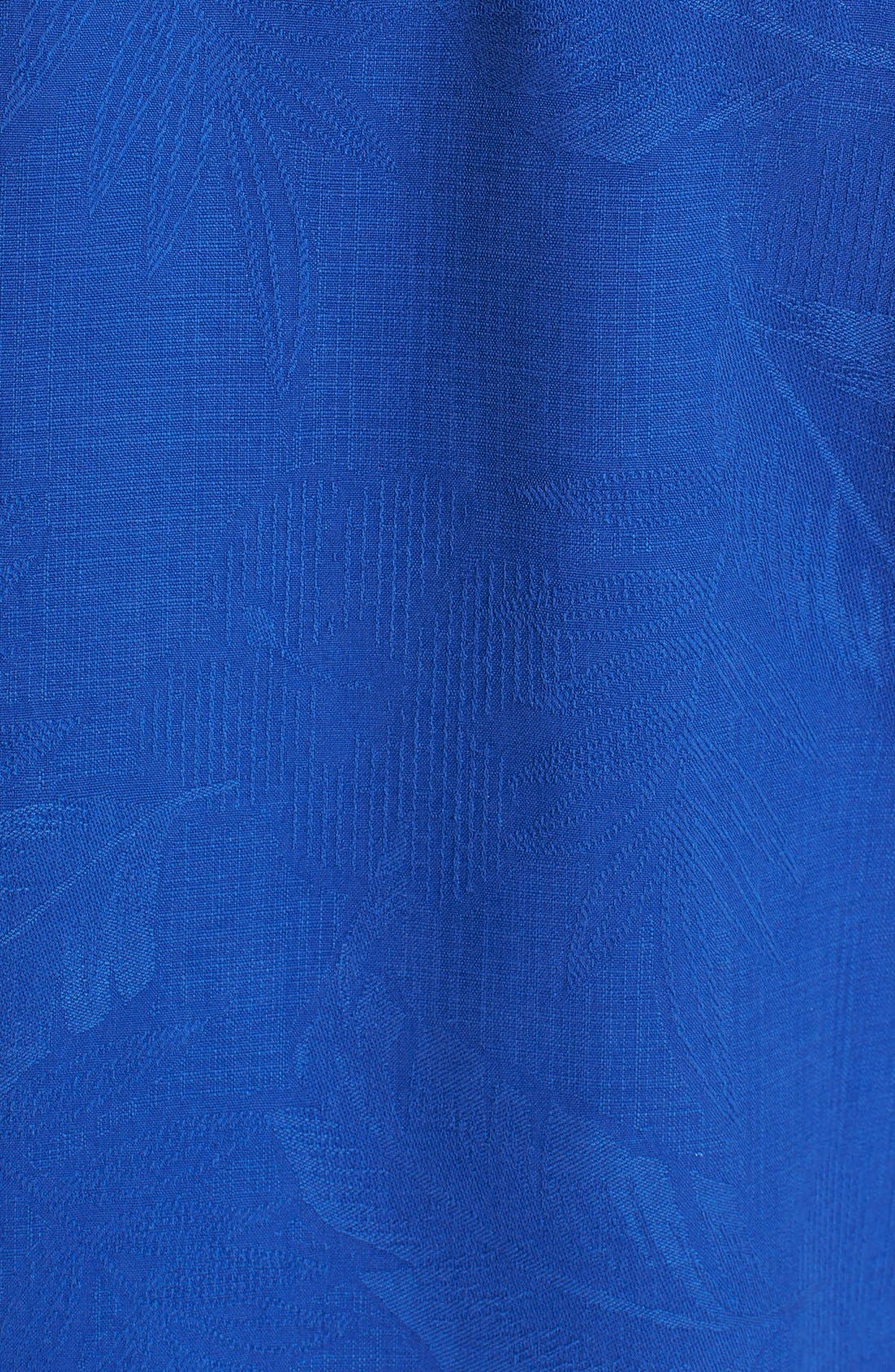 Rio Fronds Short Sleeve Silk Sport Shirt,                             Alternate thumbnail 72, color,