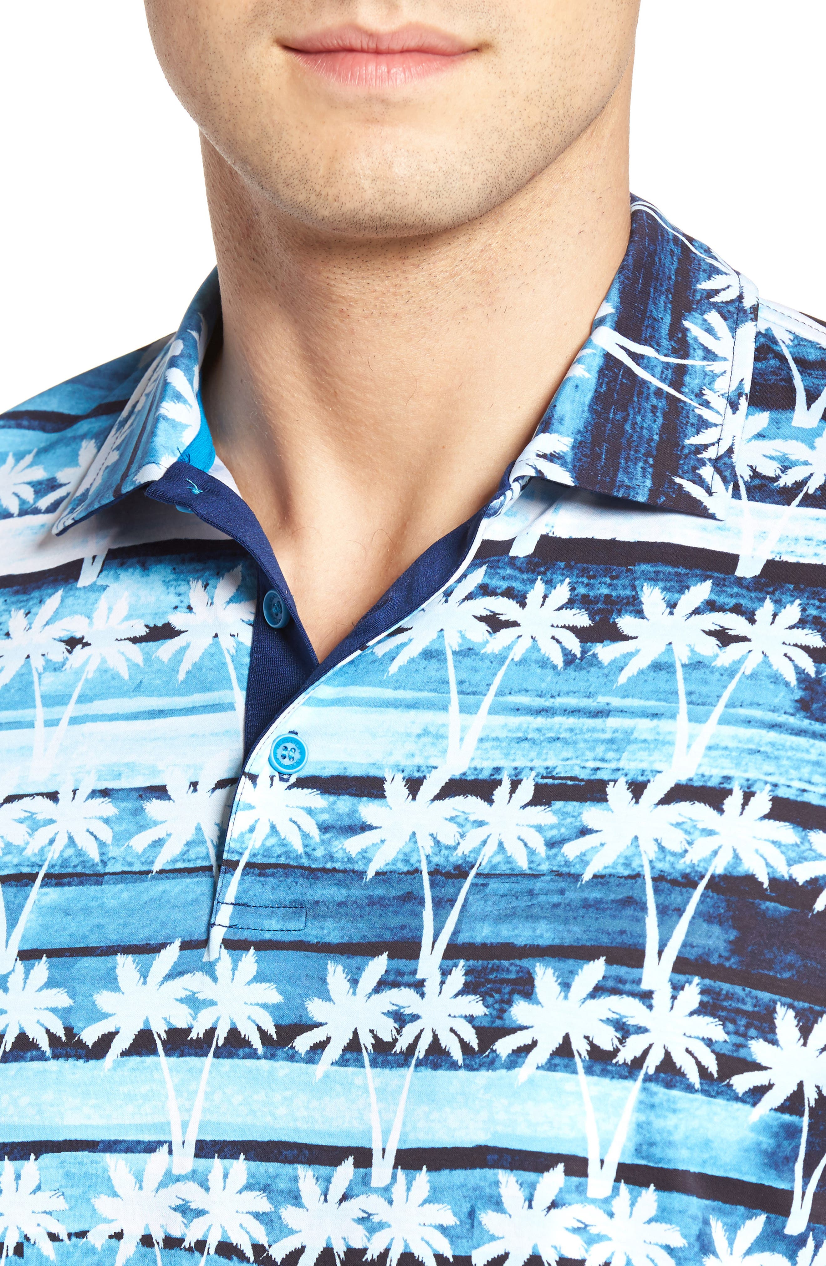 Mercerized Jersey Polo,                             Alternate thumbnail 8, color,