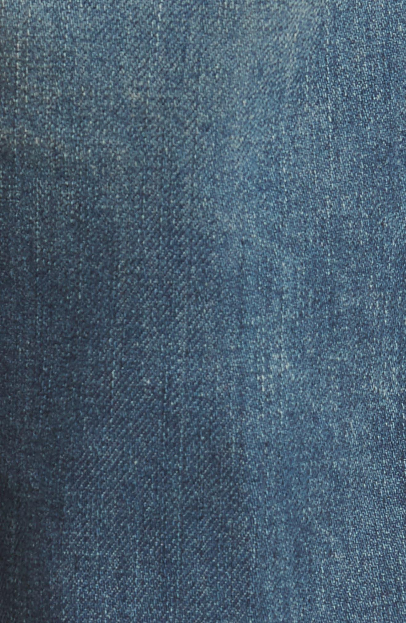 Dylan Slim Skinny Fit Jeans,                             Alternate thumbnail 5, color,                             451