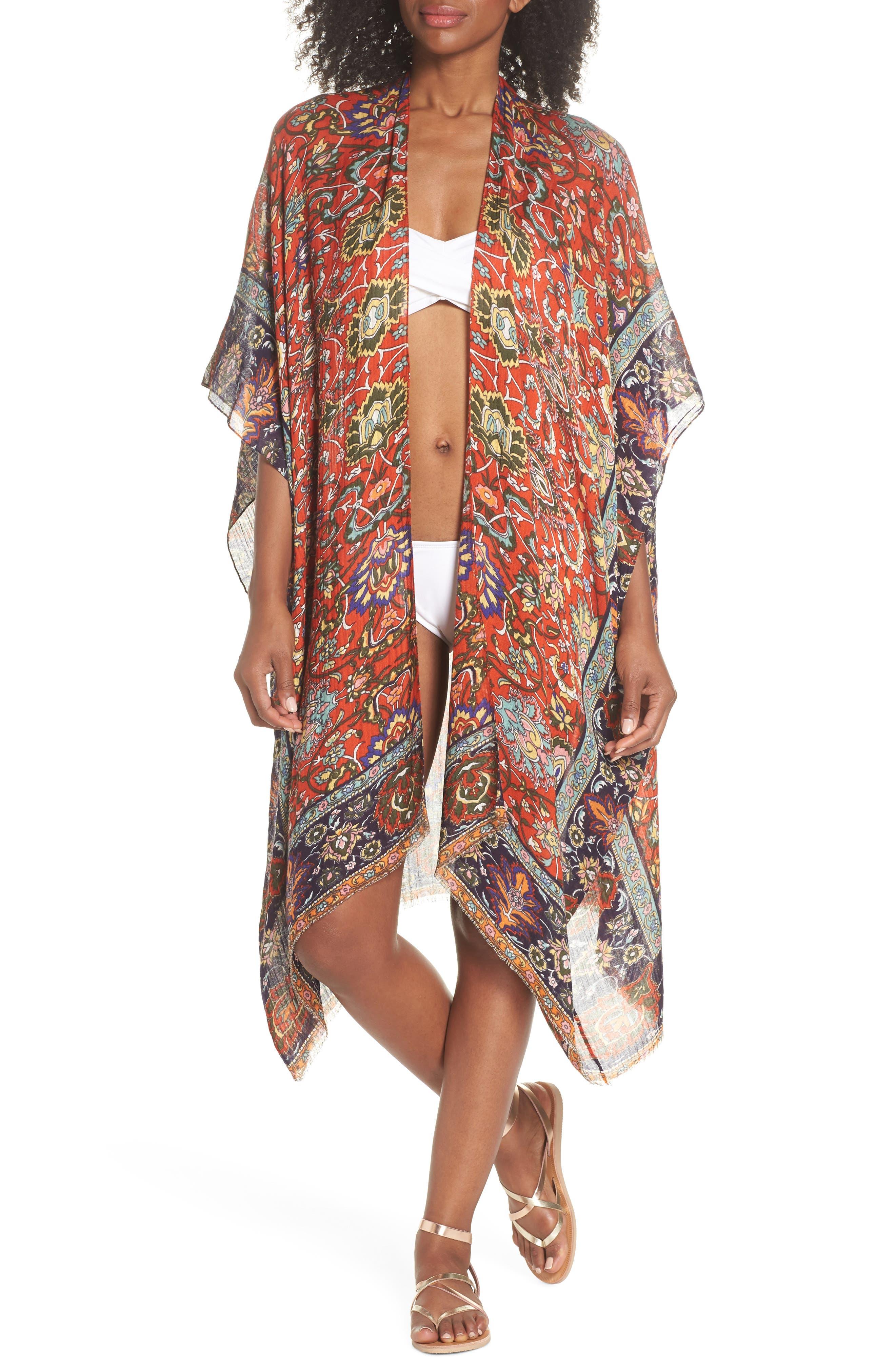 Cover-Up Kimono,                         Main,                         color,
