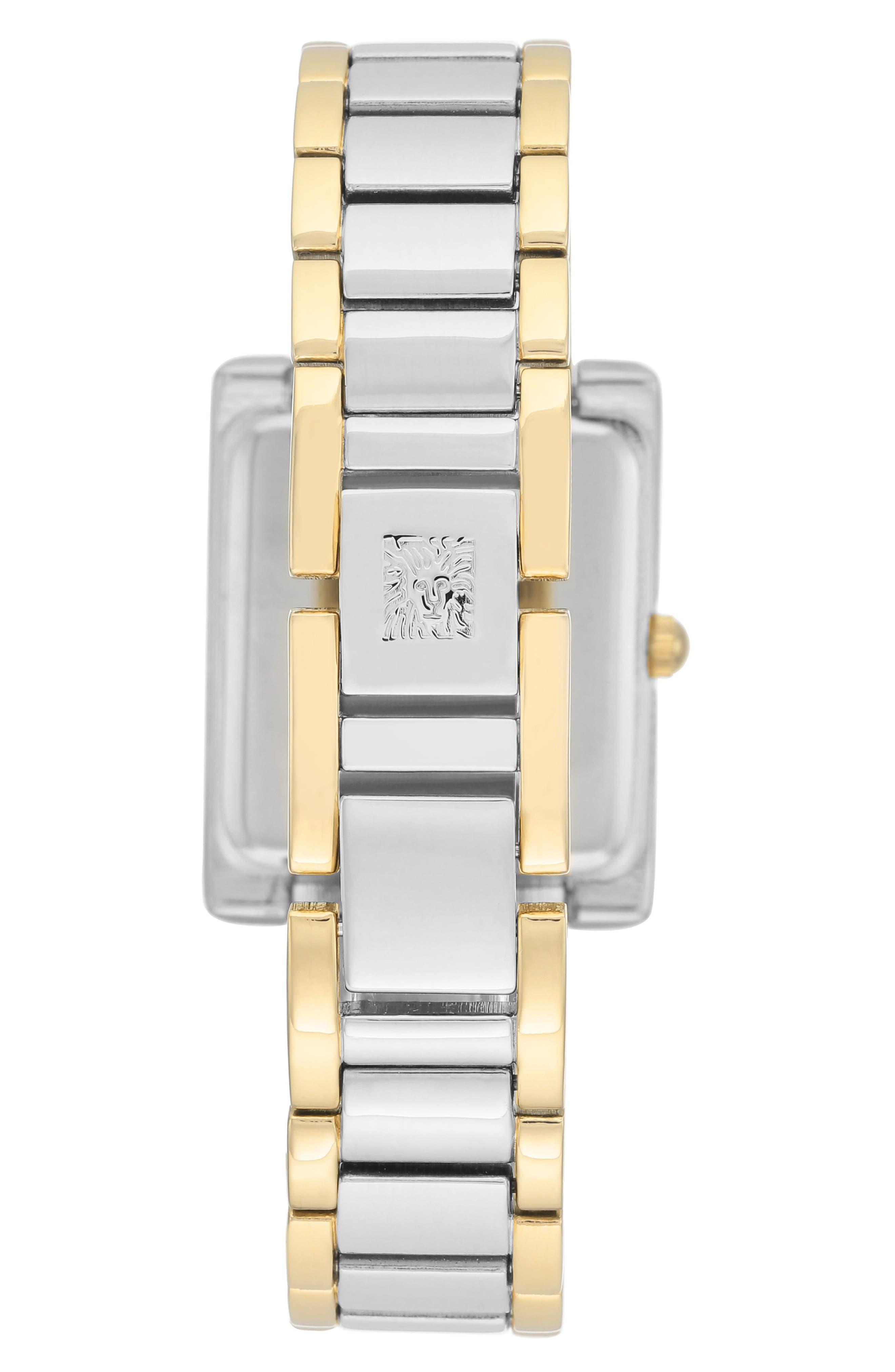 Diamond Bracelet Watch, 28mm x 35mm,                             Alternate thumbnail 3, color,