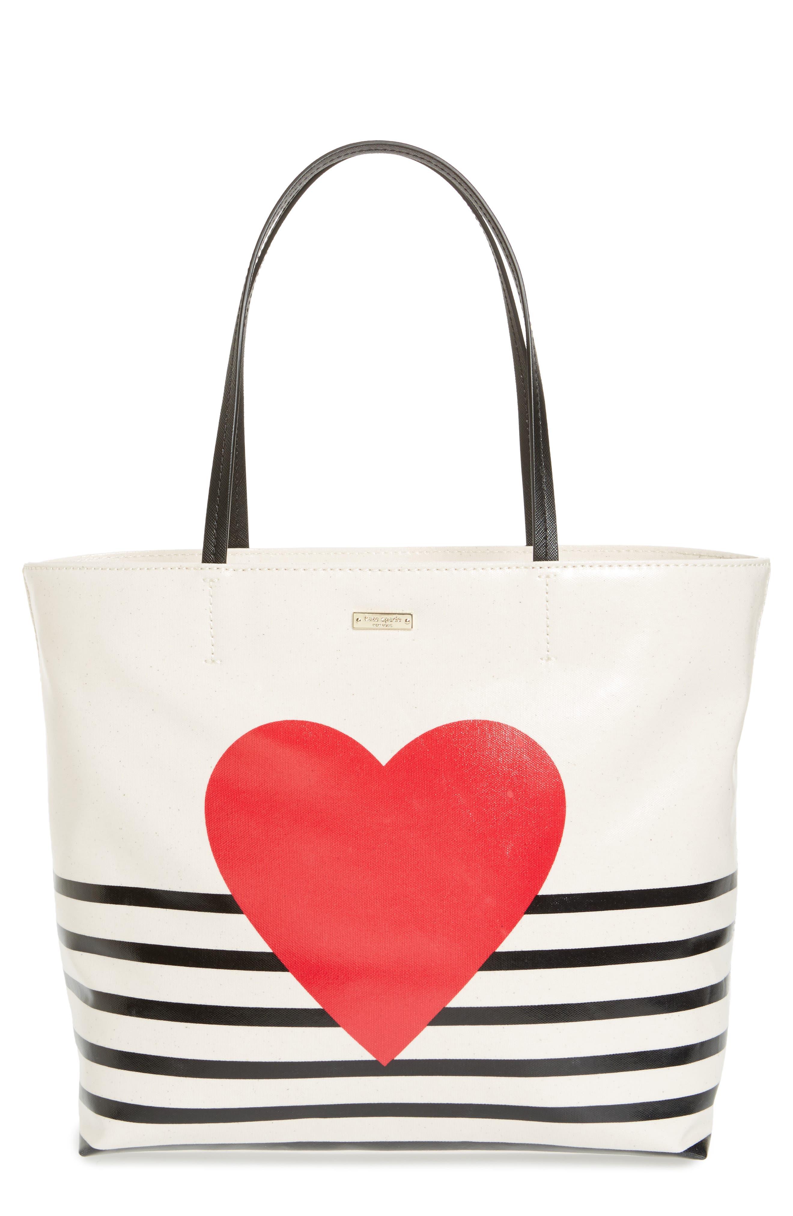 yours truly - hallie canvas tote,                         Main,                         color, 100