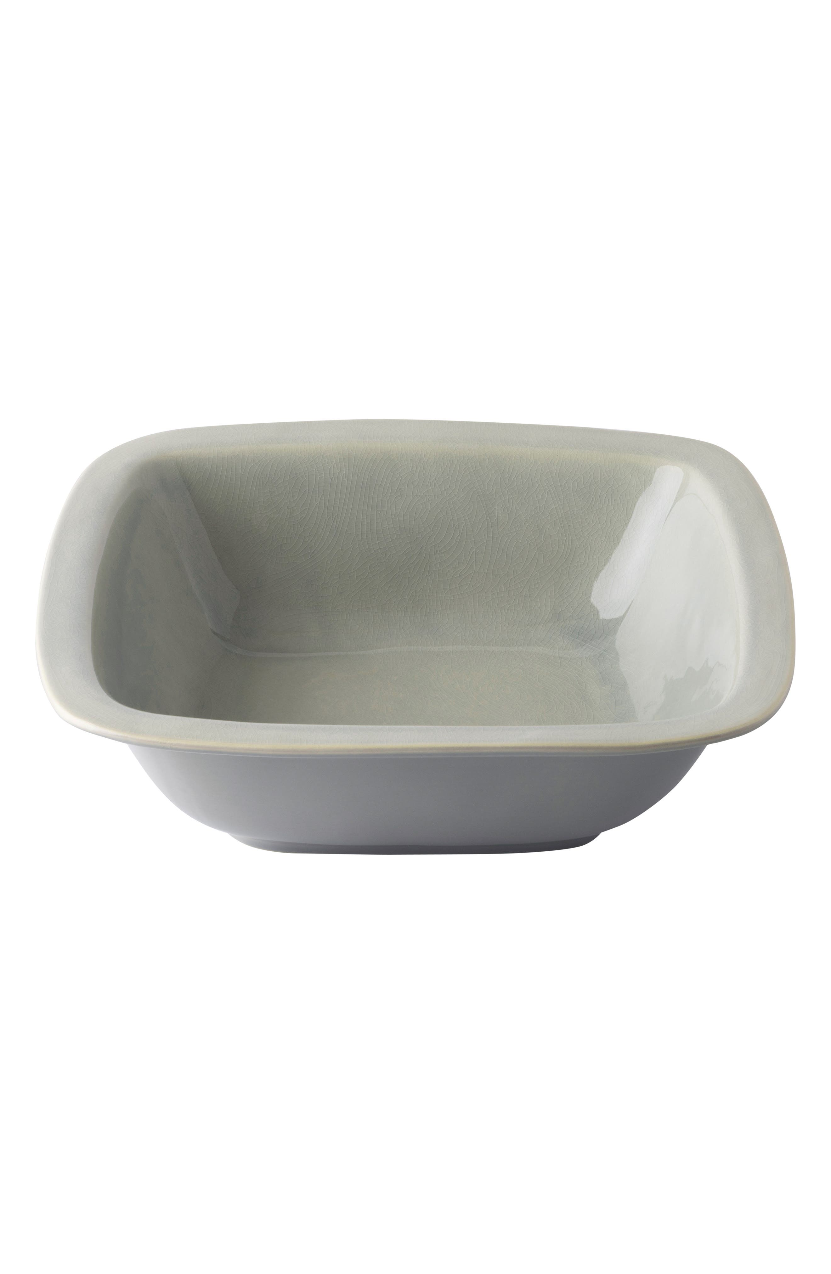 Puro Medium Ceramic Serving Bowl,                             Main thumbnail 1, color,                             MIST GREY CRACKLE