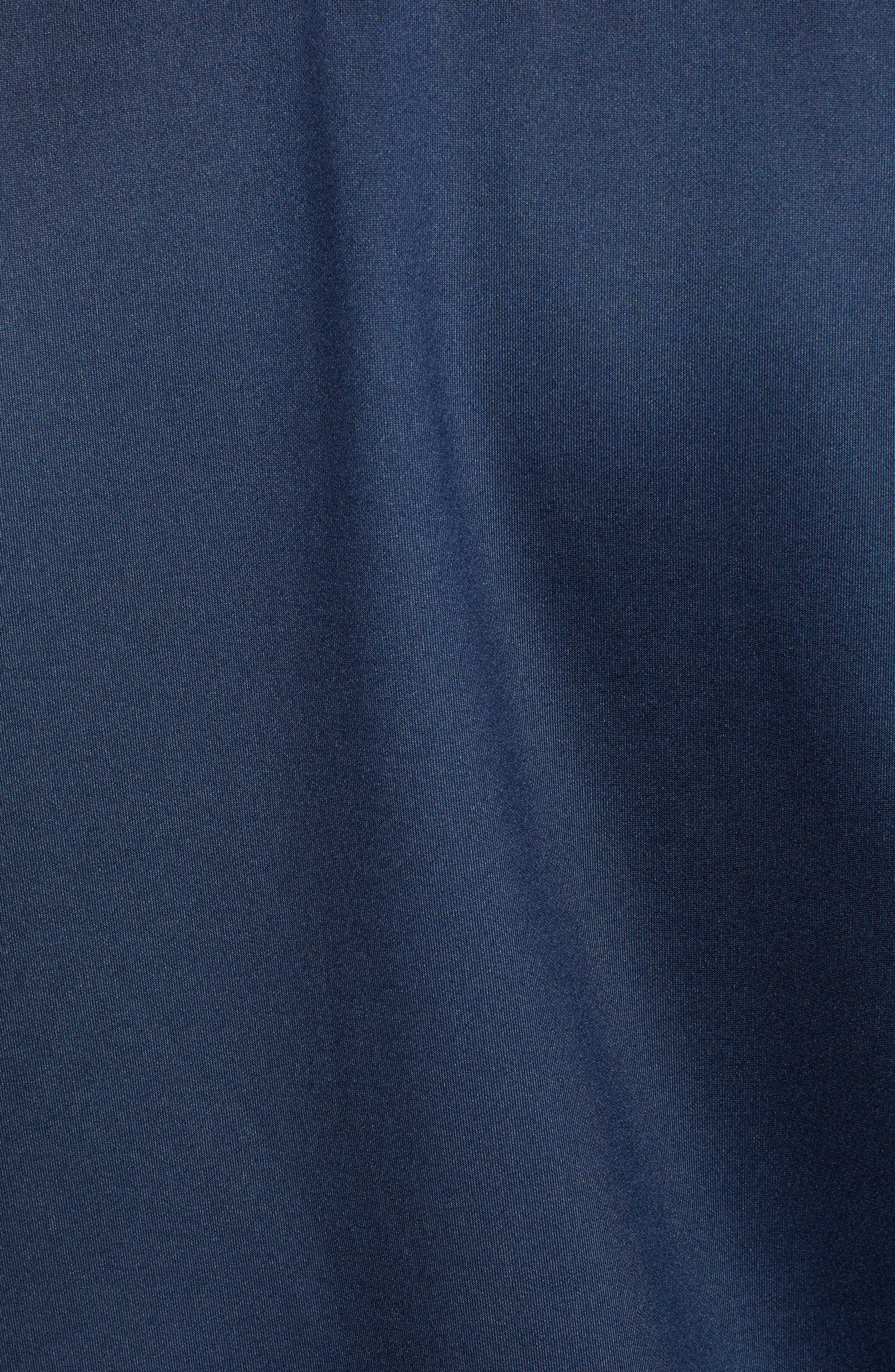 Metallic Stripe Track Jacket,                             Alternate thumbnail 7, color,                             NAVY