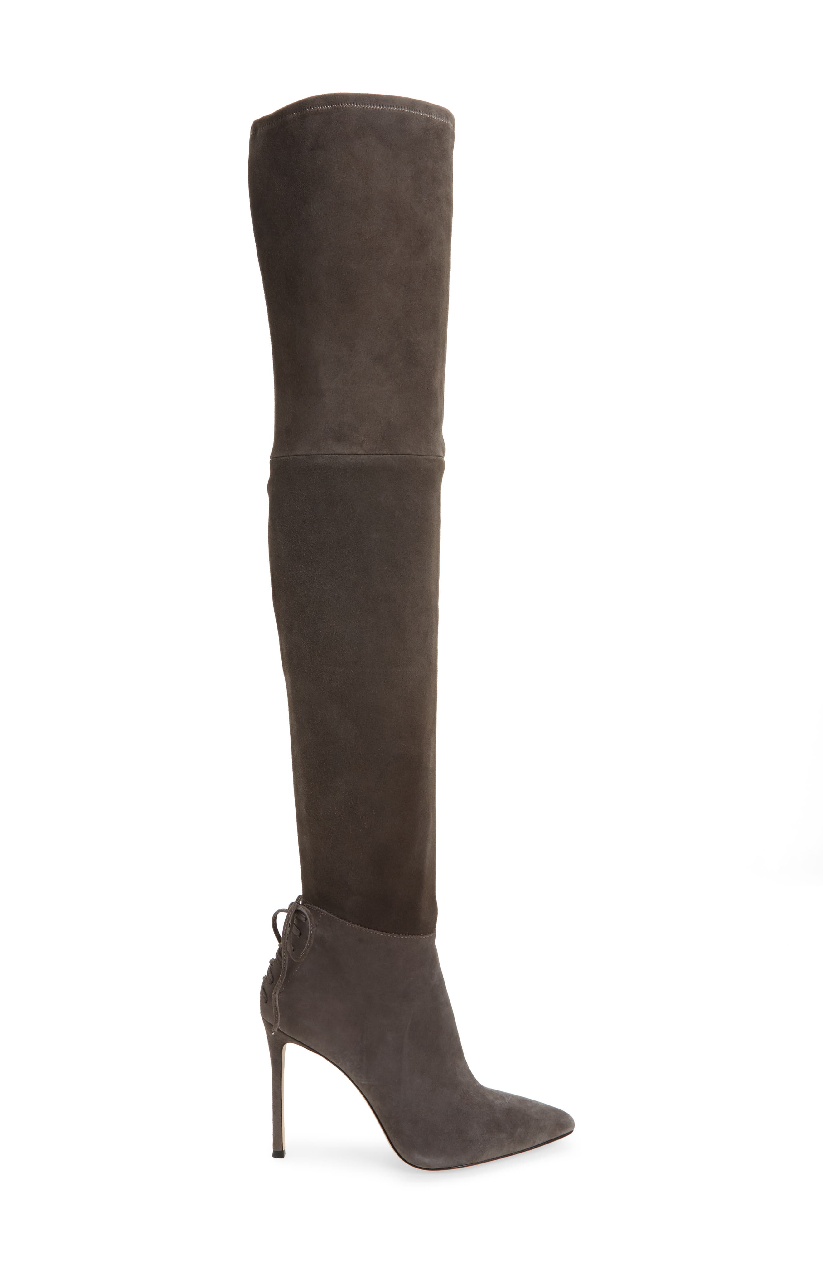 'Caterina' Over the Knee Boot,                             Alternate thumbnail 3, color,                             037