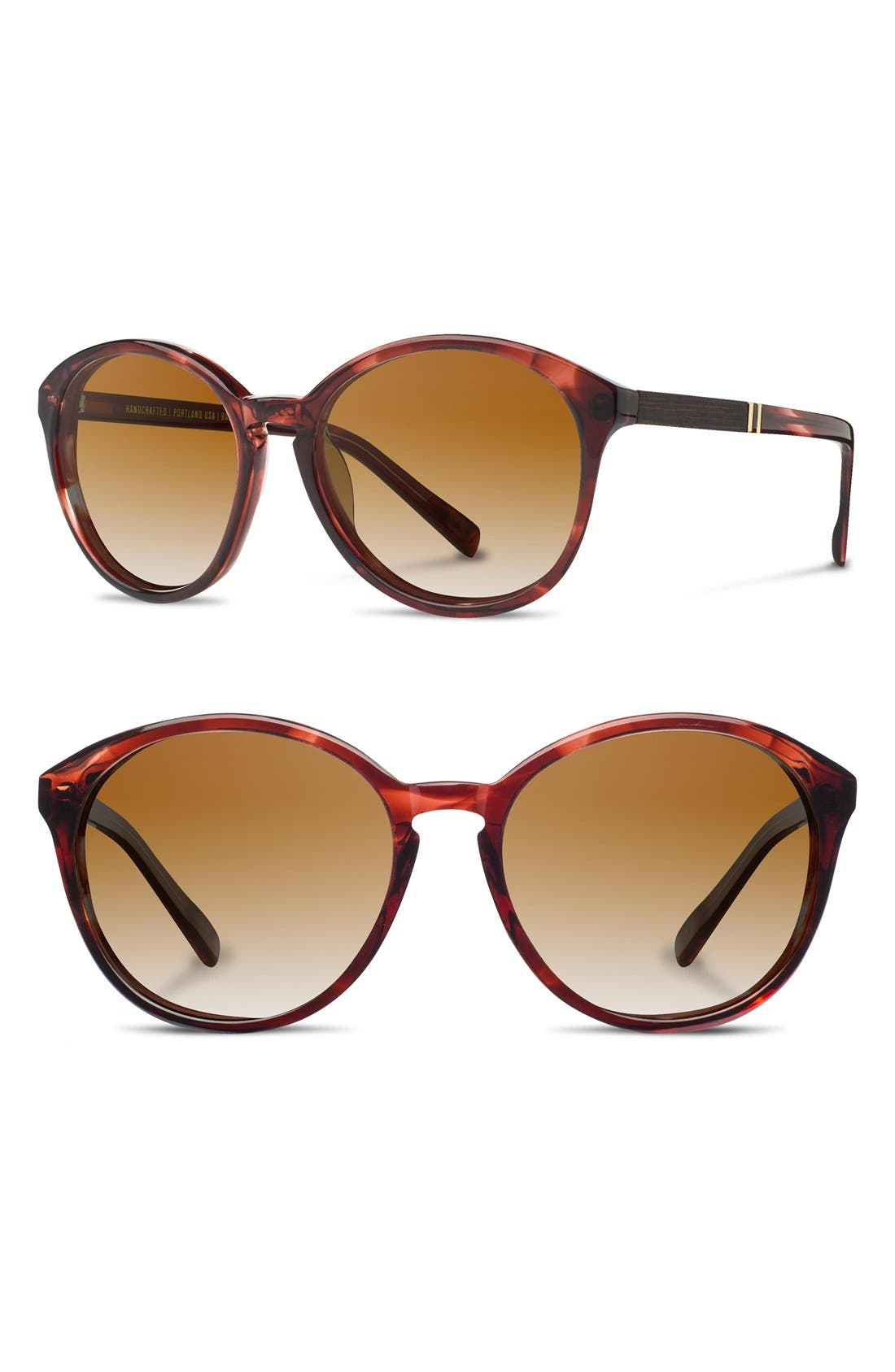'Bailey' 53mm Round Sunglasses,                             Main thumbnail 1, color,                             601