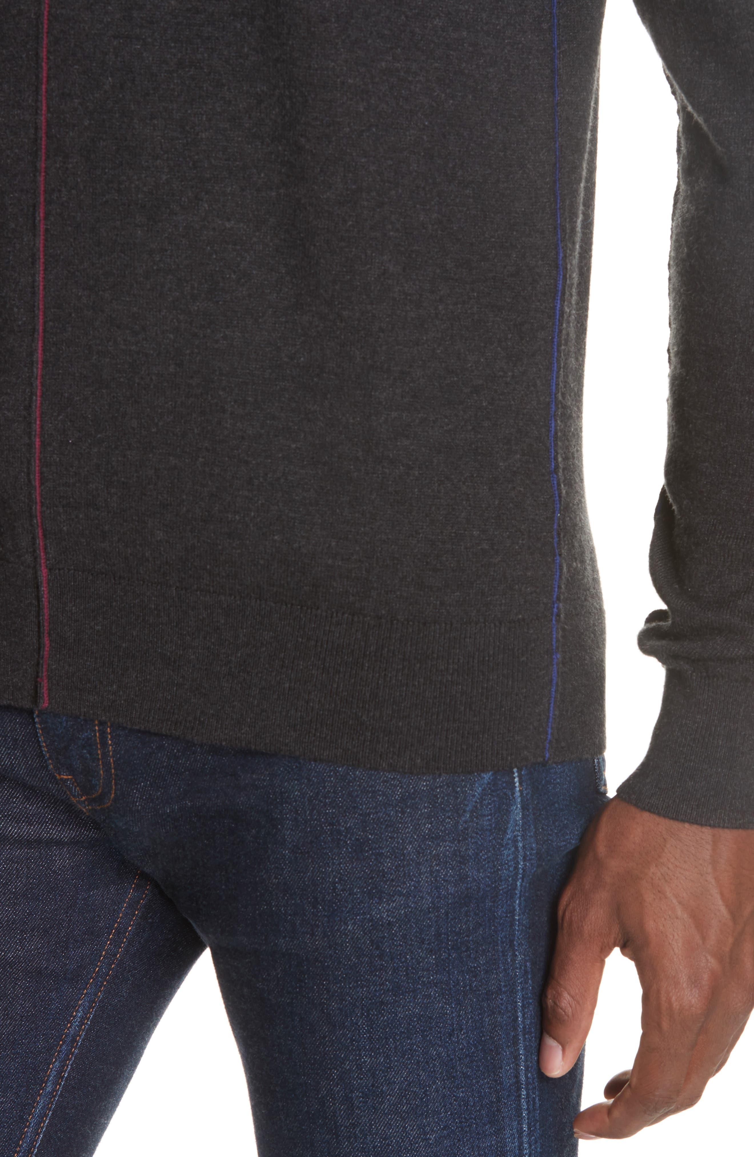 Crewneck Sweater,                             Alternate thumbnail 4, color,                             014