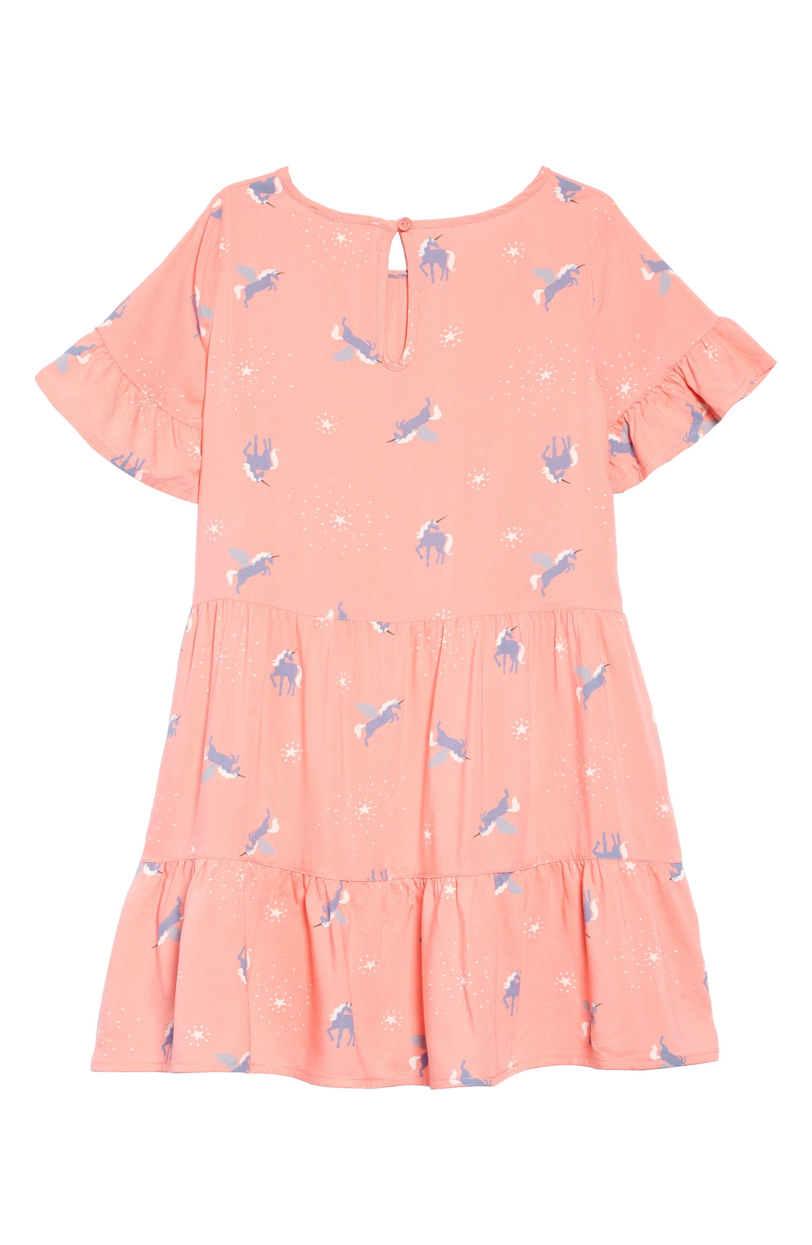 Print Tiered Dress,                             Alternate thumbnail 2, color,                             660