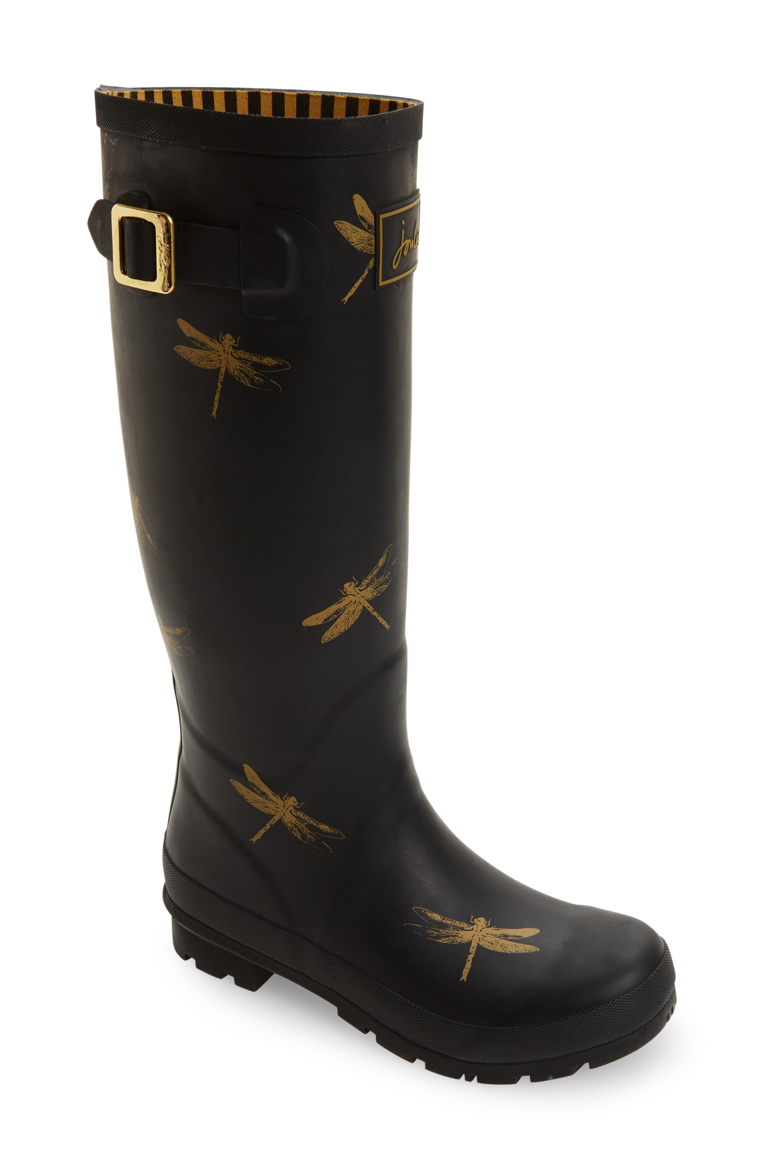 'Welly' Print Rain Boot,                             Main thumbnail 25, color,