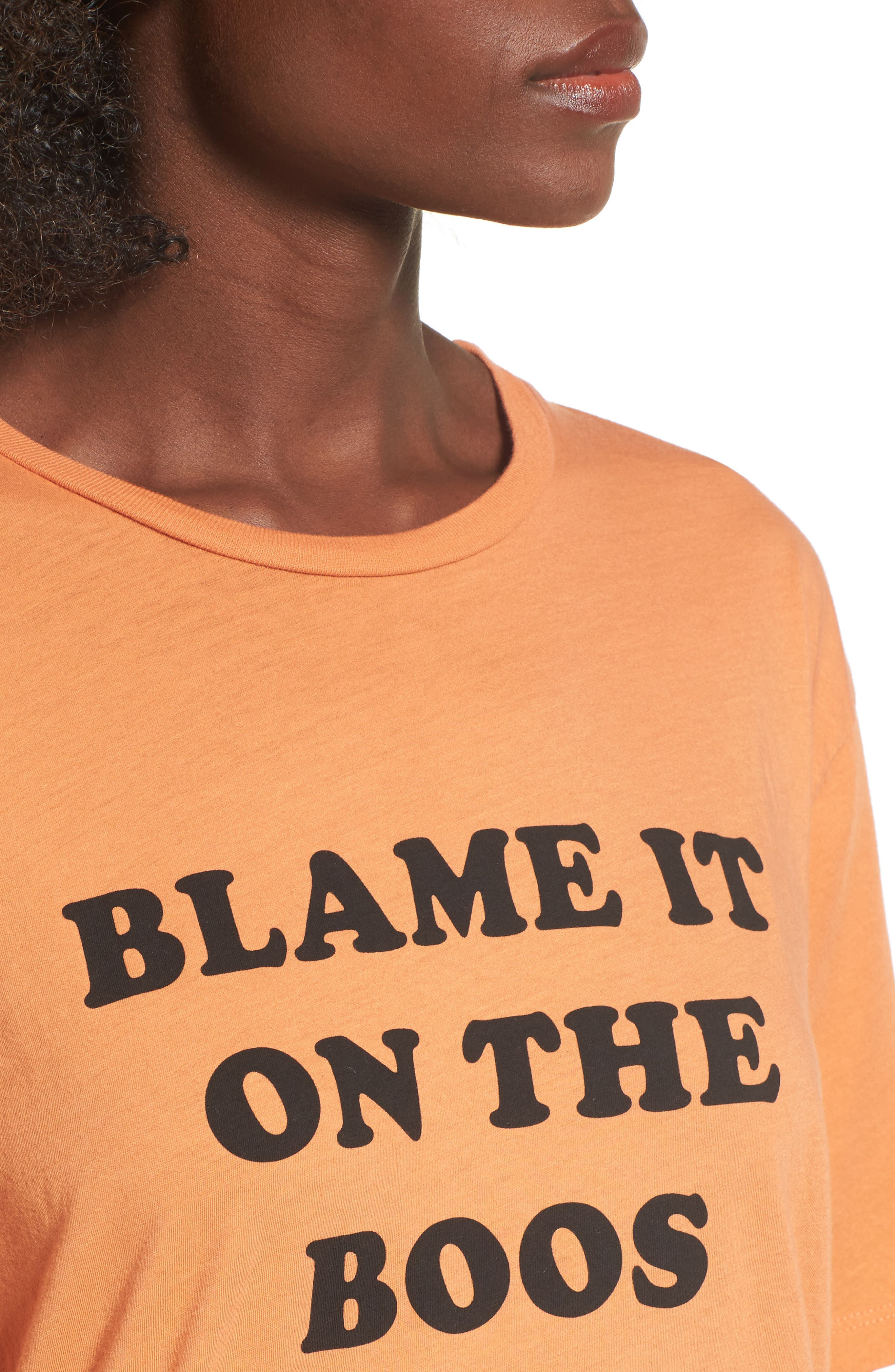 Blame It on the Boos Graphic Tee,                             Alternate thumbnail 4, color,                             835