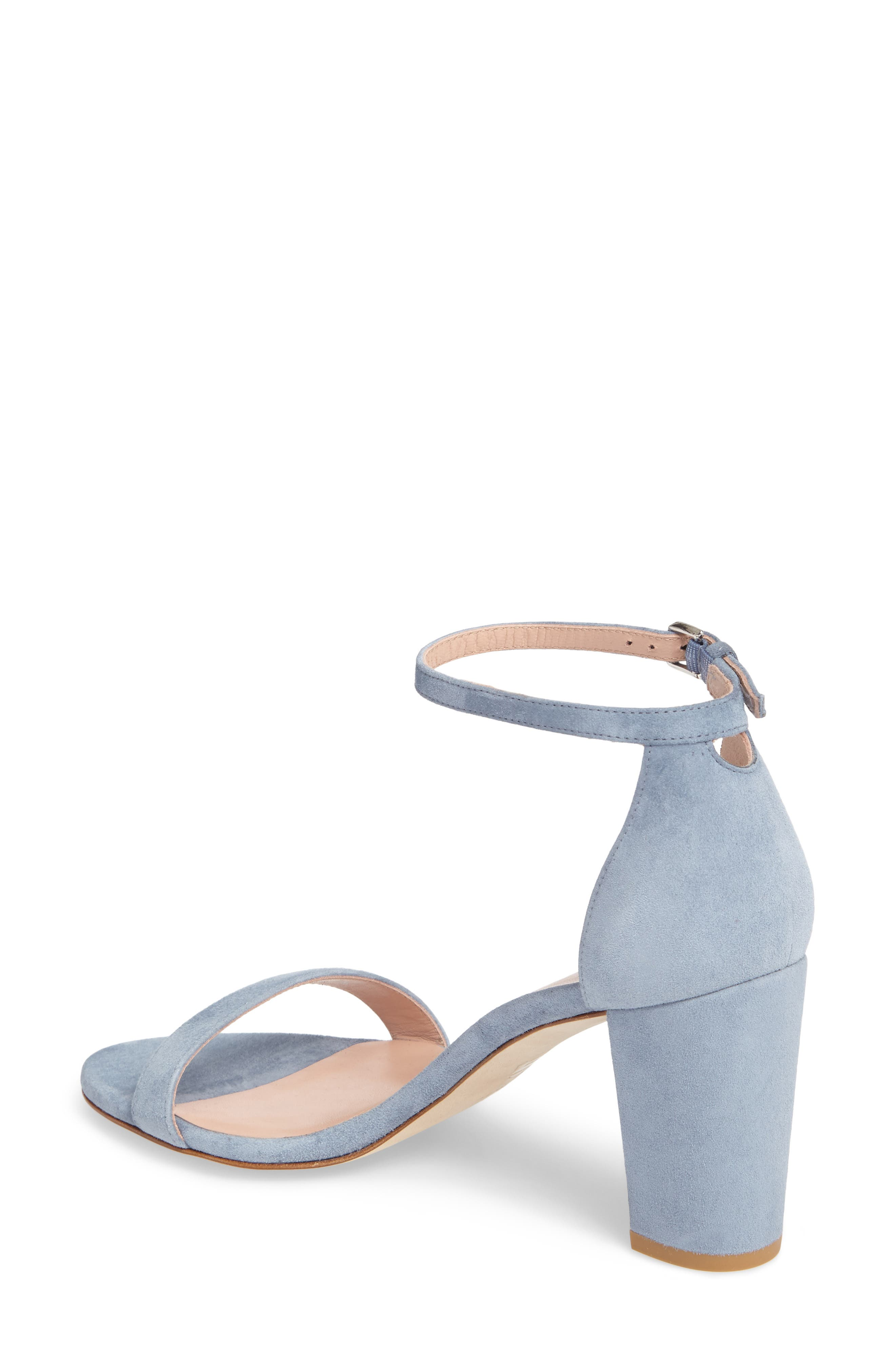 NearlyNude Ankle Strap Sandal,                             Alternate thumbnail 33, color,