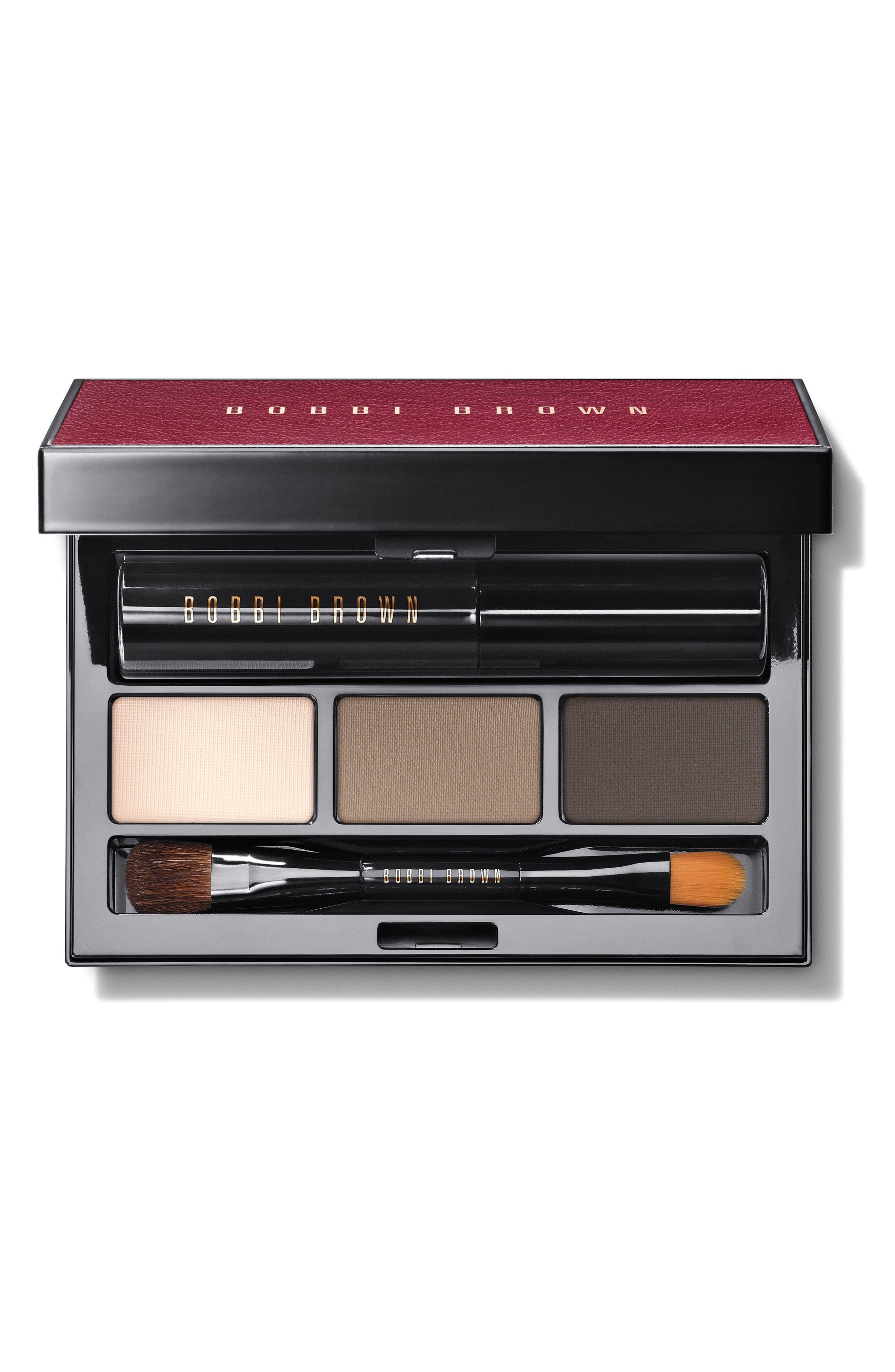 Soft Smoky Shadow & Mascara Palette,                         Main,                         color, 000